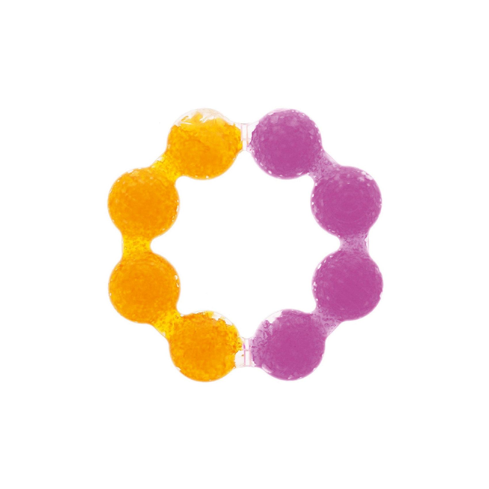 munchkin Игрушка  прорезыватель Цветок , Munchkin, рыжий-розовый munchkin игрушка прорезыватель мячик