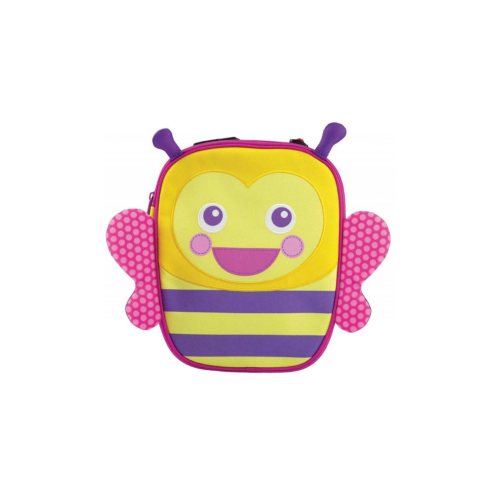 Термосумка желтая, MunchkinТермосумка желтая, Munchkin (Манчкин) – это удобный и практичный аксессуар для вашего малыша.<br>Оригинальный ланч-бокс на молнии позволит сохранить детский перекус в нужной температуре - летом у малыша всегда будет под рукой прохладный напиток и баночка пюре, а в холодное время года в такой сумочке удобно брать с собой горячий обед. Термосумка вмещает полноценный детский обед с напитком. Изолированная термоподкладка надолго сохранит температуру еды. Подкладка легко чистится, Сумочка имеет отдельный сетчатый карман для столовых приборов, салфеток и прочих мелочей. Предусмотрена удобная ручка для переноски - благодаря пряжке на ручке, ланч-бокс можно подвесить на коляску или прикрепить к взрослой сумке, если вы собираетесь в поездку.<br><br>Дополнительная информация:<br><br>- Размер упаковки: 30 х 25 х 12 см.<br>- Вес: 350 г.<br><br>Термосумку желтую, Munchkin (Манчкин) можно купить в нашем интернет-магазине.<br><br>Ширина мм: 300<br>Глубина мм: 250<br>Высота мм: 120<br>Вес г: 350<br>Возраст от месяцев: 12<br>Возраст до месяцев: 36<br>Пол: Унисекс<br>Возраст: Детский<br>SKU: 4142398
