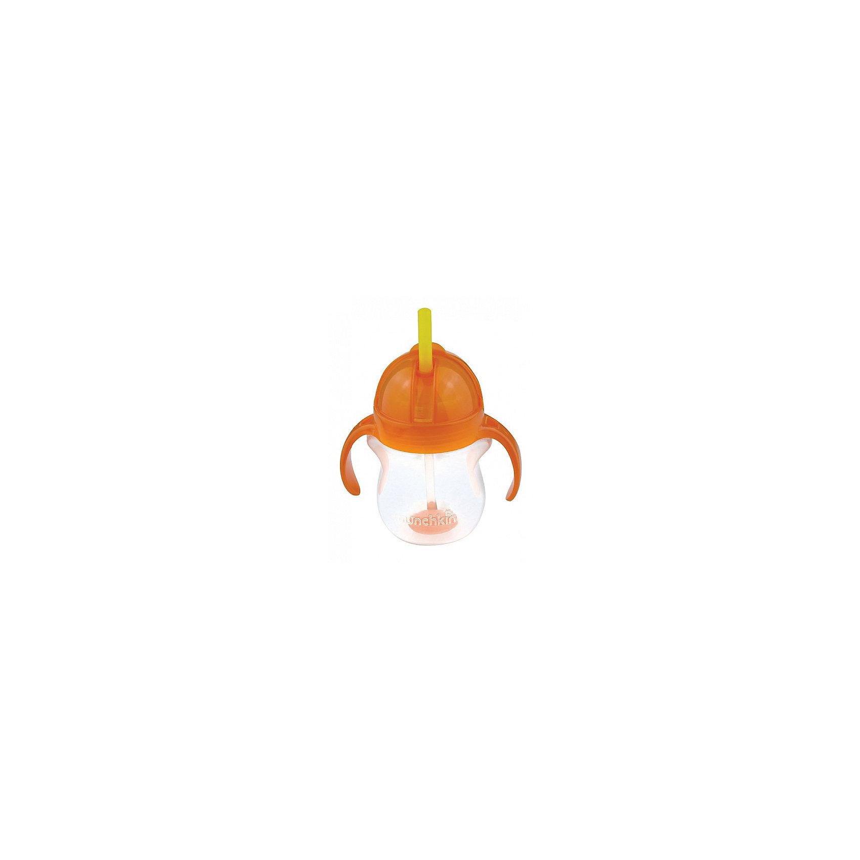 Поильник  Click Lock с трубочкой  и с ручками 207 мл, Munchkin, в ассорт.Поильник  Click Lock с трубочкой  и с ручками 207 мл, Munchkin (Манчкин) – создан для детей, которые учатся пить самостоятельно.<br>Поильник  Click Lock соединяет в себе маленькую мягкую бутылочку с ручками и возможность пить из соломинки. Поильник идеально подходит для перехода от детской бутылочки к поильнику-непроливайке. Мягкая широкая трубочка не поранит десна и язык малыша и поможет ему научиться пить совершенно самостоятельно во время прогулок. Трубочка позволяет пить из поильника под любым углом. Ручки эргономичной формы легко и удобно держать маленькими руками. Крышечка Flip top надежно закрывает трубочку. Крышка и клапан Click Lock обеспечивает 100% герметичность.<br><br>Дополнительная информация:<br><br>- В комплекте: 1 поильник<br>- Цвет в ассортименте<br>- Материал: пластик<br>- Не содержит Бисфенол А<br>- Объем: 207 мл.<br>- Можно мыть на верхней полке посудомоечной машины<br>- Размер упаковки: 9 х 24х 11 см.<br>- ВНИМАНИЕ! Данный товар представлен в ассортименте. К сожалению, предварительный выбор невозможен. При заказе нескольких единиц данного товара, возможно получение одинаковых<br><br>Поильник  Click Lock с трубочкой  и с ручками 207 мл, Munchkin (Манчкин) можно купить в нашем интернет-магазине.<br><br>Ширина мм: 90<br>Глубина мм: 240<br>Высота мм: 110<br>Вес г: 150<br>Возраст от месяцев: 6<br>Возраст до месяцев: 36<br>Пол: Унисекс<br>Возраст: Детский<br>SKU: 4142403