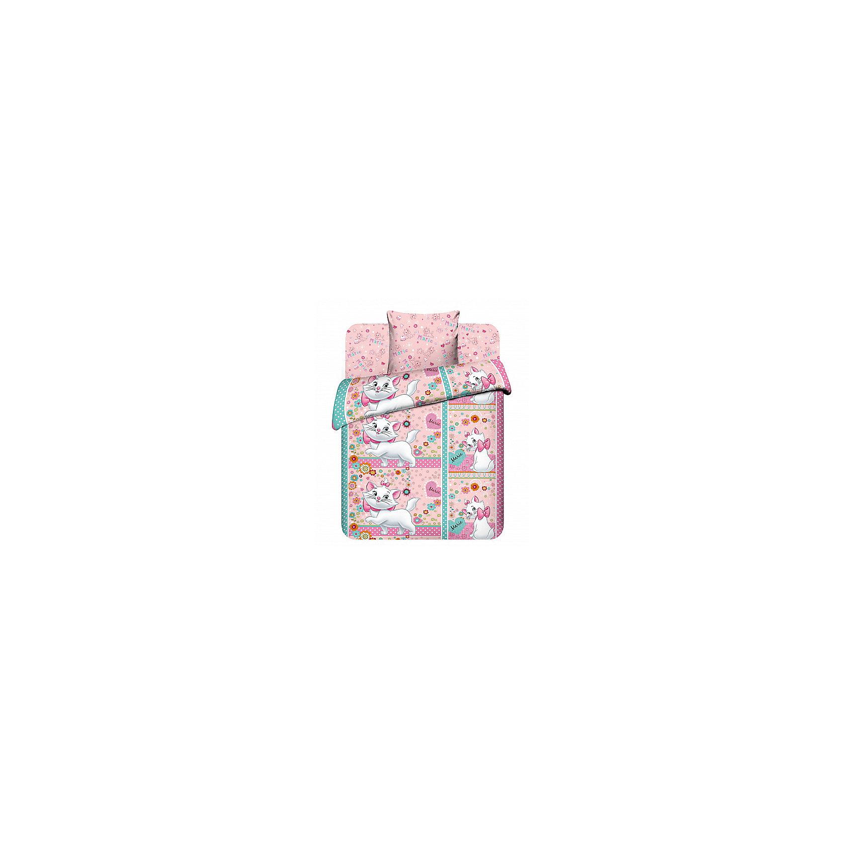 Комплект Лапочка Мари 1,5-спальный (наволочка 70*70 см), ВасилёкКомплект Лапочка Мари 1,5-спальный (наволочка 70*70 см), Василёк - это яркое постельное белье создаст атмосферу уюта в детской комнате.<br>С комплектом постельного белья Лапочка Мари Ваша малышка с удовольствием будет укладываться в свою кровать, и видеть чудесные сказочные сны. На пододеяльнике изображена диснеевская кошечка Мари из мультфильма «Коты аристократы». Героиня мультфильма выглядит необычайно ярко и красочно, и как будто оживает на детской кровати, украшая собой детскую спальню. Рисунок на пододеяльнике с двух сторон. Дизайн наволочки и простыни гармонично дополняет основной рисунок пододеяльника. Постельное белье изготовлено из бязи (100% хлопок). Белье приятное на ощупь, хорошо пропускает воздух. Устойчивые гипоаллергенные красители безопасны для здоровья ребенка. Белье легко стирается, гладится, сохраняет цвет и прочность даже после многочисленных стирок.<br><br>Дополнительная информация:<br><br>- Тип ткани: бязь<br>- Состав: 100% хлопок<br>- В комплекте: 1 наволочка, 1 пододеяльник и 1 простыня<br>- Размер пододеяльника: 148 х 215 см.<br>- Размер наволочки: 70 х 70 см.<br>- Размер простыни: 150 х 214 см.<br>- Размер упаковки: 30 х 5 х 30 см.<br>- Вес: 1,5 кг.<br><br>Комплект Лапочка Мари 1,5-спальный (наволочка 70*70 см), Василёк можно купить в нашем интернет-магазине.<br><br>Ширина мм: 300<br>Глубина мм: 50<br>Высота мм: 300<br>Вес г: 1500<br>Возраст от месяцев: 36<br>Возраст до месяцев: 144<br>Пол: Женский<br>Возраст: Детский<br>SKU: 4143468