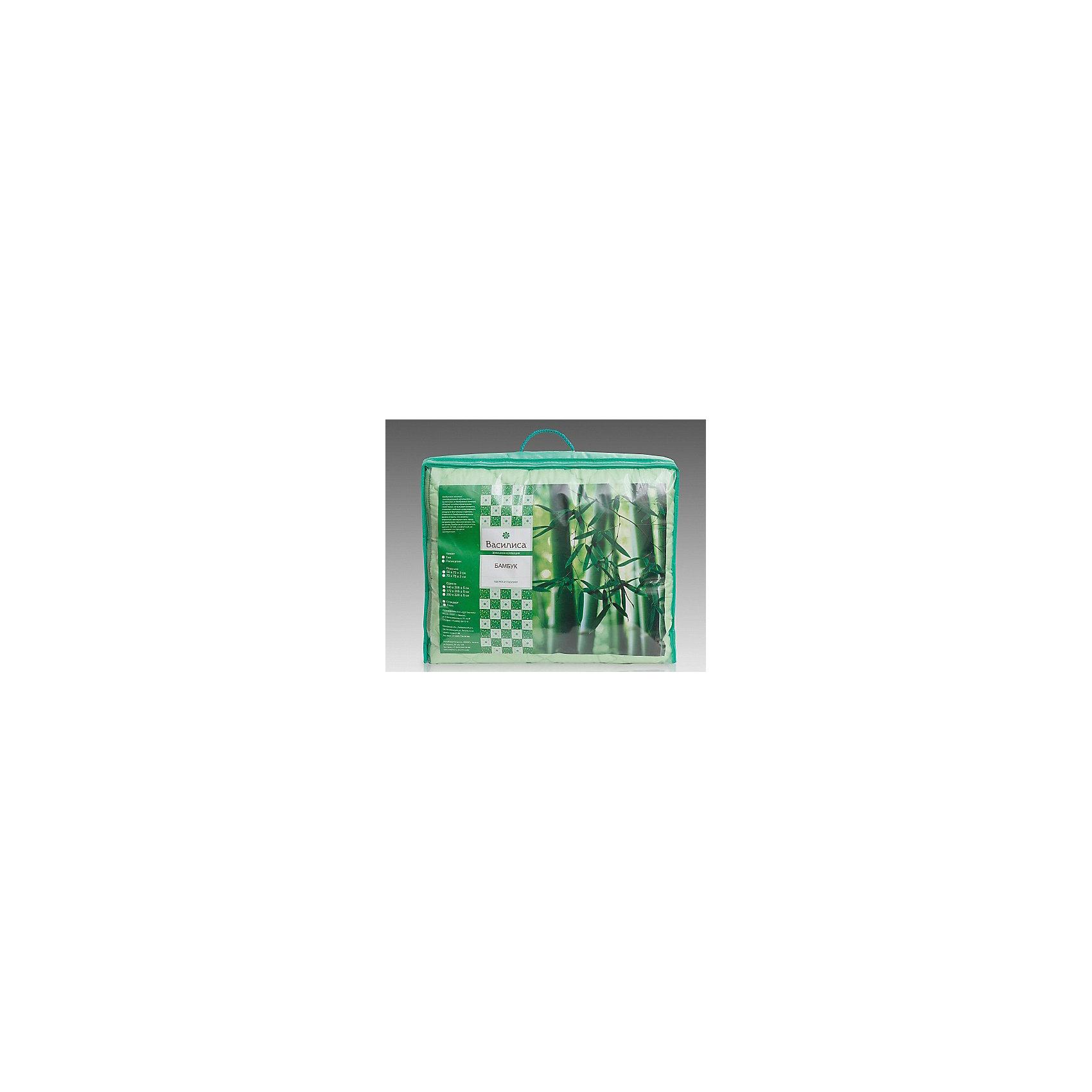 Одеяло Бамбук 140*205 см, ВасилисаДомашний текстиль<br>Одеяло Бамбук 140*205 см, Василиса – это лучшим выбором для комфортного и здорового сна и отдыха.<br>Одеяло Бамбук обладает естественными антибактериальными свойствами, успокаивает и восстанавливает во время сна, не вызывает аллергии. Бамбуковое волокно - натуральный растительный наполнитель, обеспечивающий комфорт и здоровый сон. Уникальная пористая структура волокна позволяет свободно дышать - создает эффект свежести во время сна. Изделия из бамбукового волокна можно стирать, что является огромным преимуществом перед натуральными наполнителями. Этот наполнитель мягкий, лёгкий, комфортный, не слёживается в процессе эксплуатации. Чехол одеяла выполненный из полисатина прочный и плотный.<br><br>Дополнительная информация:<br><br>- Материал чехла: полисатин<br>- Цвет: зеленый<br>- Наполнитель: бамбуковое волокно<br>- Размер одеяла: 140 х 205 см.<br>- Размер упаковки: 70 х 70 х 30 см.<br>- Вес: 1,9 кг.<br><br>Одеяло Бамбук 140*205 см, Василиса можно купить в нашем интернет-магазине.<br><br>Ширина мм: 700<br>Глубина мм: 700<br>Высота мм: 300<br>Вес г: 1900<br>Возраст от месяцев: 36<br>Возраст до месяцев: 216<br>Пол: Унисекс<br>Возраст: Детский<br>SKU: 4143475