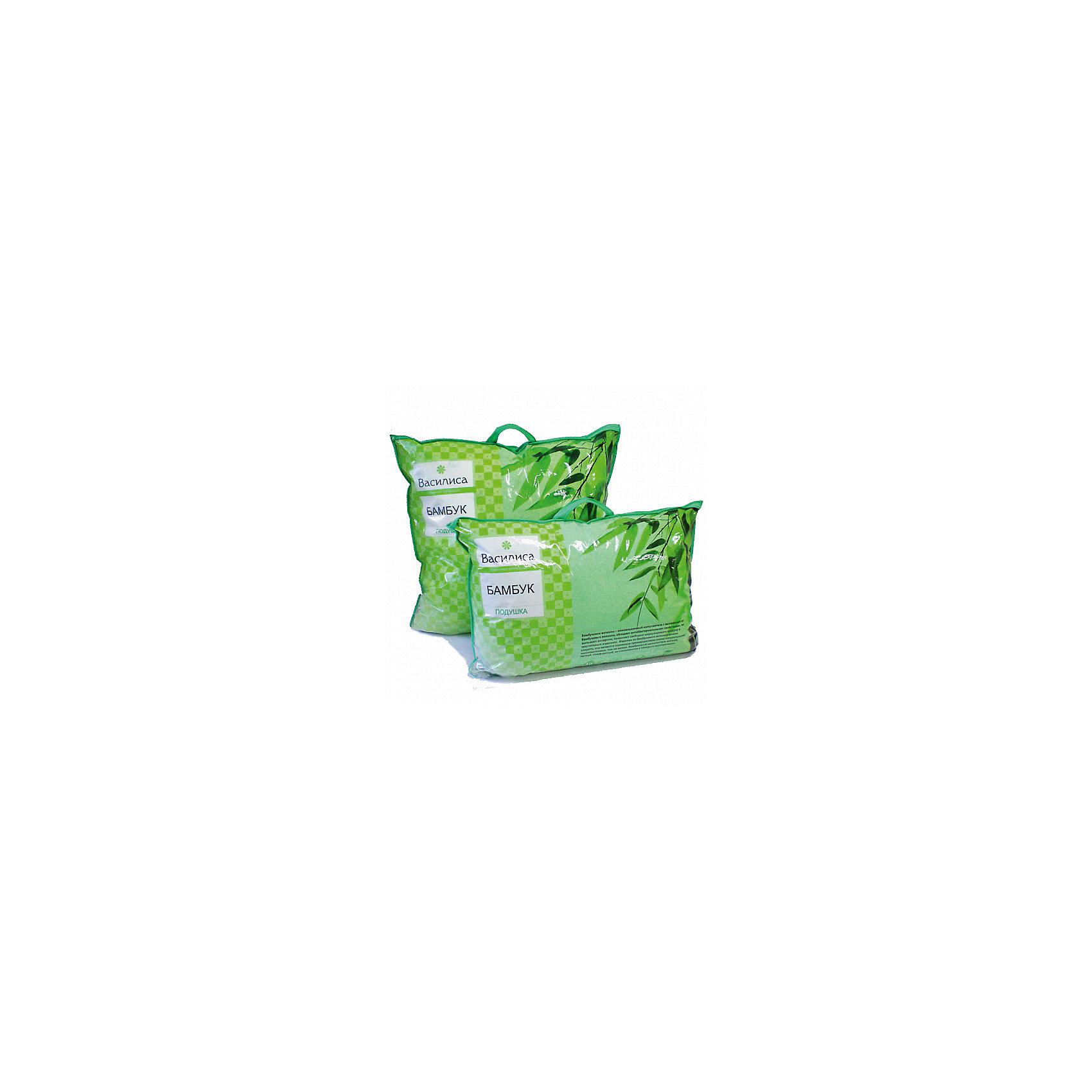 Подушка Бамбук 70*70 см, ВасилисаПодушка Бамбук 70*70 см, Василиса – это лучшим выбором для комфортного и здорового сна и отдыха.<br>Подушка Бамбук обладает естественными антибактериальными свойствами, успокаивает и восстанавливает во время сна, не вызывает аллергии. Бамбуковое волокно - натуральный растительный наполнитель, обеспечивающий комфорт и здоровый сон. Уникальная пористая структура волокна позволяет свободно дышать - создает эффект свежести во время сна. Изделия из бамбукового волокна можно стирать, что является огромным преимуществом перед натуральными наполнителями. Этот наполнитель мягкий, лёгкий, комфортный, не слёживается в процессе эксплуатации. Чехол подушки выполнен из тика. Тик натуральная ткань, отличающаяся высокой плотностью, устойчива к проколам и разрывам, а также отличается долговечностью в использовании.<br><br>Дополнительная информация:<br><br>- Материал чехла: тик<br>- Цвет: зеленый<br>- Наполнитель: бамбуковое волокно<br>- Размер подушки: 70 х 70 см.<br>- Размер упаковки: 70 х 70 х 20 см.<br>- Вес: 600 гр.<br><br>Подушку Бамбук 70*70 см, Василиса можно купить в нашем интернет-магазине.<br><br>Ширина мм: 700<br>Глубина мм: 700<br>Высота мм: 200<br>Вес г: 600<br>Возраст от месяцев: 36<br>Возраст до месяцев: 216<br>Пол: Унисекс<br>Возраст: Детский<br>SKU: 4143478