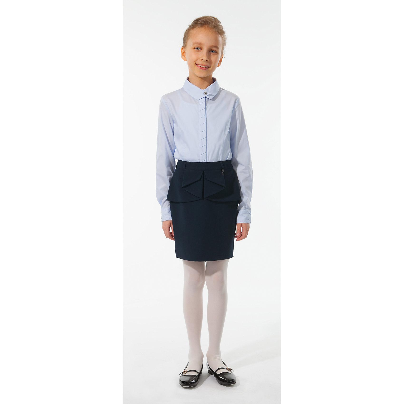 Юбка Silver SpoonЮбка Silver Spoon (Сильвер Спун) - идеальная модель для школьных занятий. Стильная юбка обязательно понравятся маленькой моднице и позволит чувствовать себя комфортно на протяжении всего дня. Модель очень мягкая и приятная на ощупь, не сковывает движений и не раздражает кожу.<br>Юбка имеет прямой силуэт, украшена волнообразной пелеринкой вокруг талии. Застежка на молнии сзади, есть шлевки для ремня. Классический покрой позволяет использовать юбку в различных сочетаниях - с блузкой, пиджаками и другими предметами школьного гардероба. Все модели Сильвер Спун предназначены для повседневного интенсивного использования и выполнены из прочных тканей, которые позволяют вещам выглядеть великолепно на протяжении длительного срока эксплуатации. Рекомендуется ручная стирка, гладить при низкой температуре.<br><br>Дополнительная информация:<br><br>- Цвет: темно-синий.<br>- Материал: 63% полиэстер, 32% вискоза, 5% спандекс.<br> <br>Юбку, Silver Spoon (Сильвер Спун), можно купить в нашем интернет-магазине.<br><br>Ширина мм: 207<br>Глубина мм: 10<br>Высота мм: 189<br>Вес г: 183<br>Цвет: разноцветный<br>Возраст от месяцев: 132<br>Возраст до месяцев: 144<br>Пол: Женский<br>Возраст: Детский<br>Размер: 152,140,164,158,146,134,128<br>SKU: 4146252