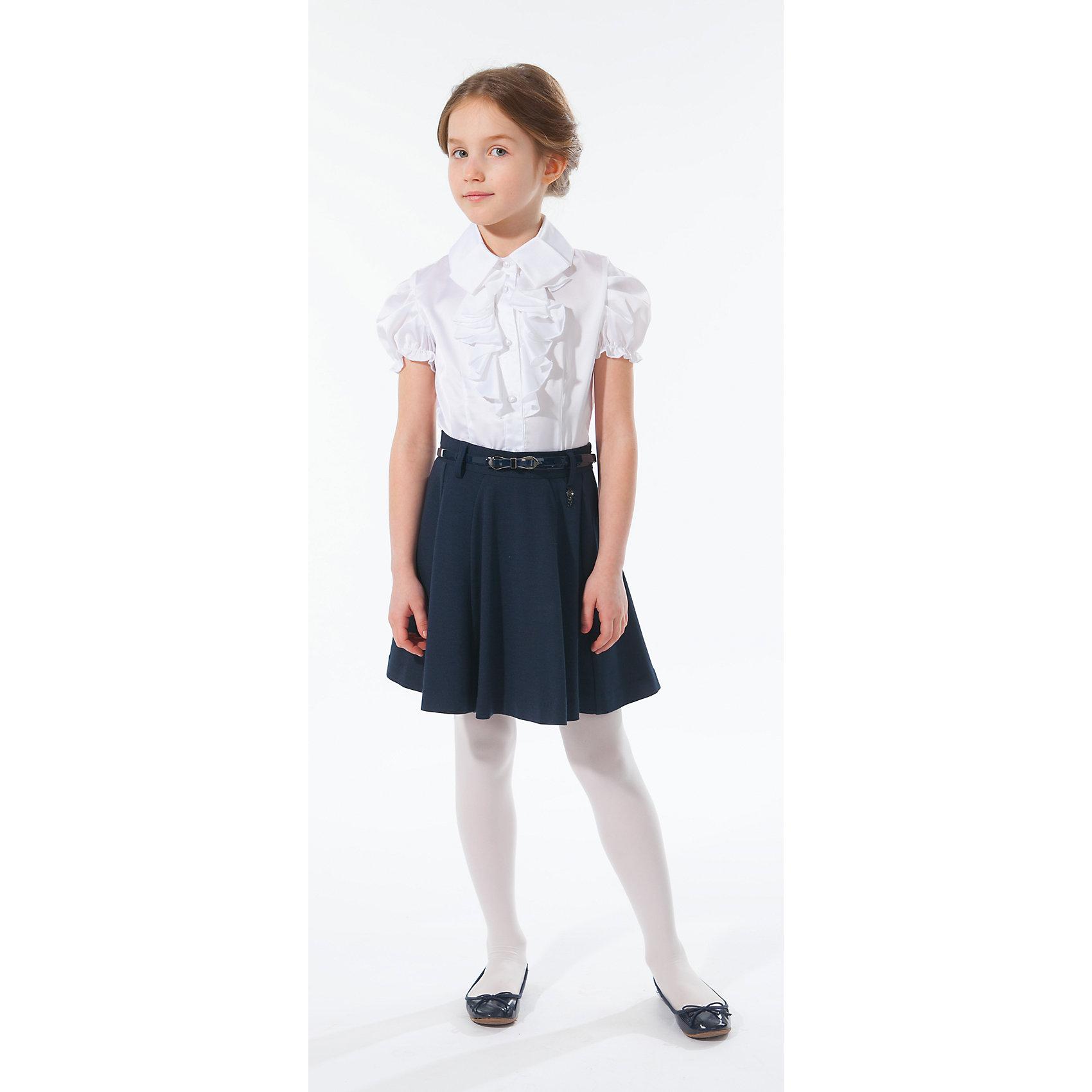 Юбка Silver SpoonЮбка Silver Spoon (Сильвер Спун) - идеальная модель для школьных занятий. Стильная юбка обязательно понравятся маленькой моднице и позволит чувствовать себя комфортно на протяжении всего дня. Юбка очень мягкая и приятная на ощупь, не сковывает движений и не раздражает кожу.<br>Модель в складочку имеет слегка расклешенный силуэт, сбоку застежка на молнии, есть шлевки для ремня. Классический покрой позволяет использовать юбку в различных сочетаниях - с блузкой, пиджаками и другими предметами школьного гардероба. Все модели Сильвер Спун предназначены для повседневного интенсивного использования и выполнены из прочных тканей, которые позволяют вещам выглядеть великолепно на протяжении длительного срока эксплуатации. <br><br>Дополнительная информация:<br><br>- Цвет: темно-синий.<br>- Материал: 65% хлопок, 30% полиэстер, 5% спандекс.<br><br>Юбку, Silver Spoon (Сильвер Спун), можно купить в нашем интернет-магазине.<br><br>Ширина мм: 207<br>Глубина мм: 10<br>Высота мм: 189<br>Вес г: 183<br>Цвет: разноцветный<br>Возраст от месяцев: 120<br>Возраст до месяцев: 132<br>Пол: Женский<br>Возраст: Детский<br>Размер: 158,134,146,152,128,140<br>SKU: 4146273