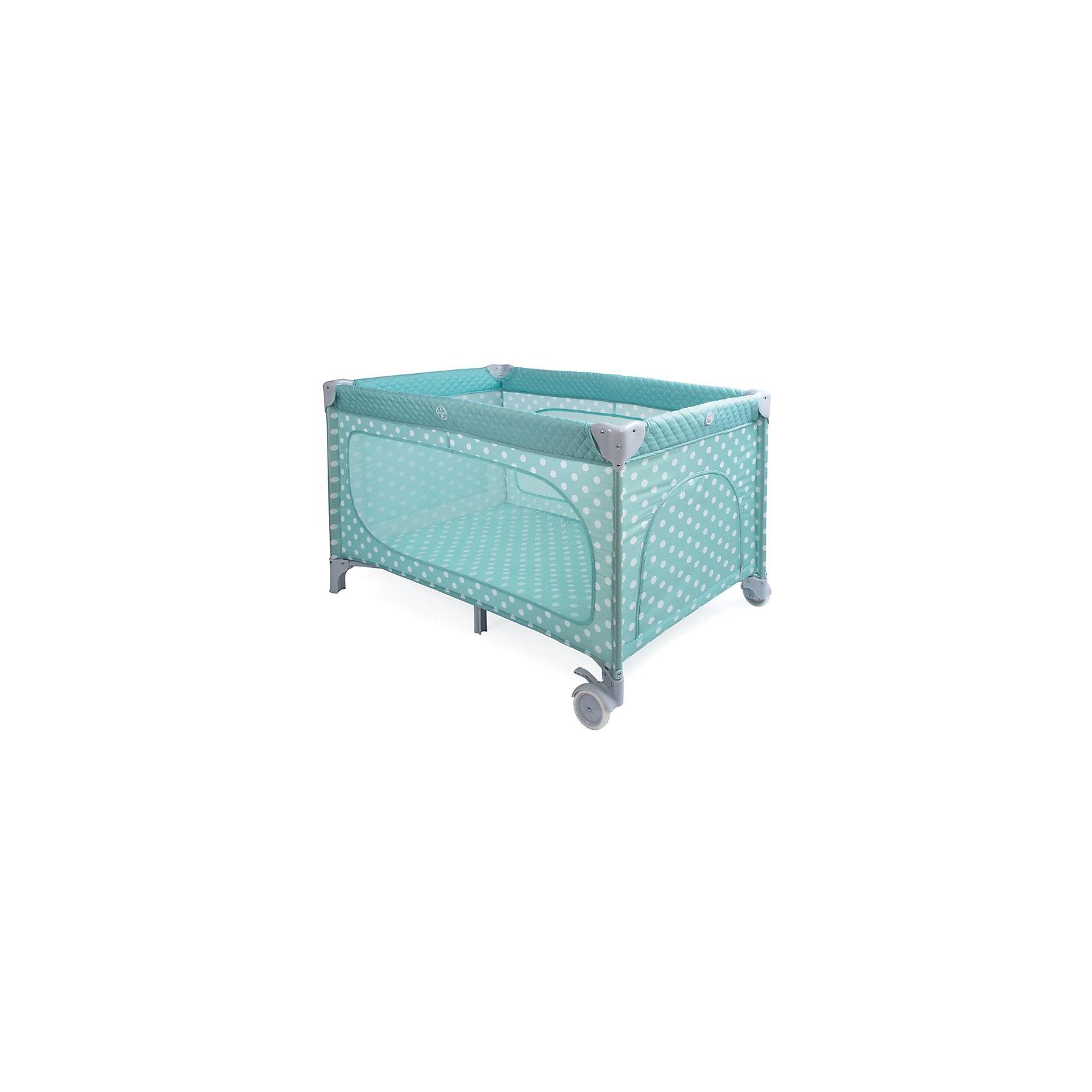 Манеж-кровать Martin, Happy Baby, голубойЭлегантный манеж, легко превращающийся в комфортабельную кроватку, выполнен из современных, легких материалов. Большие окна обеспечивают вентиляцию, прекрасное освещение и позволяют хорошо видеть малыша. Два колесика делают удобным перемещение манежа-кроватки по дому. Все углы и опасные для ребенка<br>поверхности защищены специальными накладками.<br><br>В комплектацию входит съемный матрасик, дополнительный второй уровень, а для активных малышей имеется боковой лаз. Кроватка легко и компактно складывается.<br><br>Дополнительная информация:<br><br>Размеры в сложенном виде: 76 см Х 26 см Х 22 см<br>Размеры в разложенном виде: 128 см Х 76 см Х 70 см<br>Размер спального места: 120 см Х 60 см<br>Максимальный вес ребенка: до 15 кг<br><br>Кровать-манеж Martin, Happy Baby, голубую можно купить в нашем магазине.<br><br>Ширина мм: 220<br>Глубина мм: 230<br>Высота мм: 780<br>Вес г: 12000<br>Возраст от месяцев: 0<br>Возраст до месяцев: 36<br>Пол: Унисекс<br>Возраст: Детский<br>SKU: 4146882