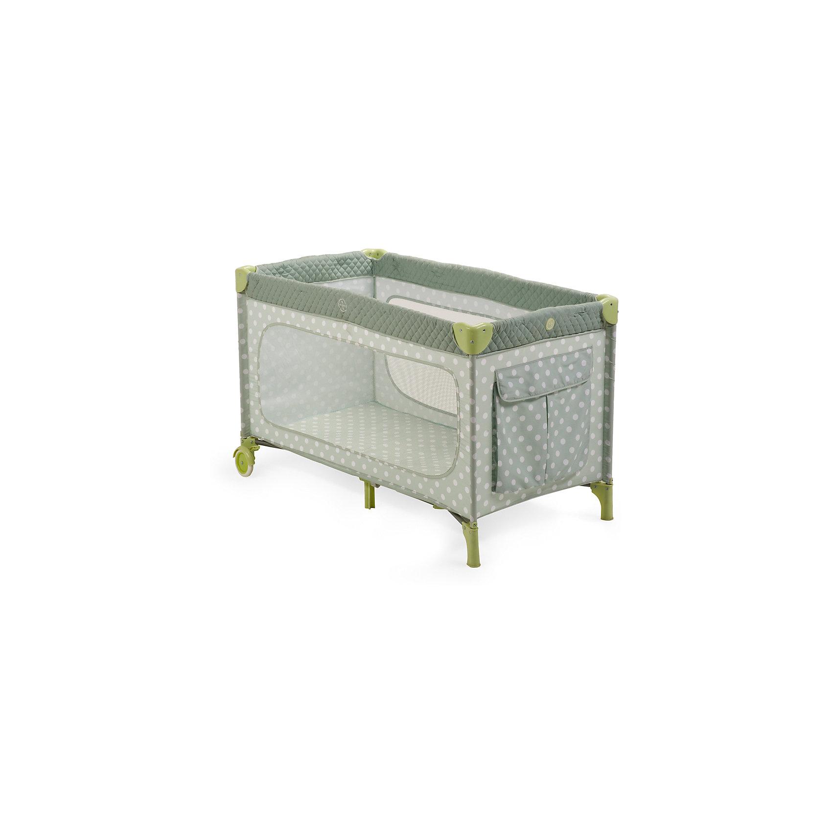 Манеж-кровать Martin, Happy Baby, серыйЭлегантный манеж, легко превращающийся в комфортабельную кроватку, выполнен из современных, легких материалов. Большие окна обеспечивают вентиляцию, прекрасное освещение и позволяют хорошо видеть малыша. Два колесика делают удобным перемещение манежа-кроватки по дому. Все углы и опасные для ребенка поверхности защищены специальными накладками.<br><br>В комплектацию входит съемный матрасик, дополнительный второй уровень, а для активных малышей имеется боковой лаз. Кроватка легко и компактно складывается.<br><br>Дополнительная информация:<br><br>Размеры в сложенном виде: 76 см Х 26 см Х 22 см<br>Размеры в разложенном виде: 128 см Х 76 см Х 70 см<br>Размер спального места: 120 см Х 60 см<br>Максимальный вес ребенка: до 15 кг<br><br>Кровать-манеж Martin, Happy Baby, серую можно купить в нашем магазине.<br><br>Ширина мм: 220<br>Глубина мм: 230<br>Высота мм: 780<br>Вес г: 12000<br>Возраст от месяцев: 0<br>Возраст до месяцев: 36<br>Пол: Унисекс<br>Возраст: Детский<br>SKU: 4146883