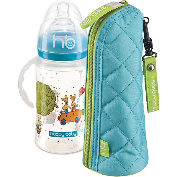 Пенал для бутылочек THERMO CASE FOR BOTTLES, Happy Baby, ментоловыйБутылочки и аксессуары<br>Пенал для бутылочек от Happy Baby - прекрасный вариант для прогулок и путешествий! Футляр позволяет дольше сохранять нужную температуру питья, застегивается на молнию, выполнен из плотной ткани с фольгированной прослойкой, имеет оригинальный стильный дизайн. <br><br>Дополнительная информация:<br><br>- Материал: полиэстер, фольгированная ткань.<br>- Размер: 9х18 см. <br>- Дольше сохраняет температуру.<br>- Застегивается на молнию. <br>- Удобное крепление на кнопке.<br>- Подходит для всех бутылочек.<br><br>Пенал для бутылочек THERMO CASE FOR BOTTLES, Happy Baby, (Хеппи Беби), ментоловый, можно купить в нашем магазине.<br><br>Ширина мм: 90<br>Глубина мм: 180<br>Высота мм: 250<br>Вес г: 68<br>Возраст от месяцев: 0<br>Возраст до месяцев: 36<br>Пол: Унисекс<br>Возраст: Детский<br>SKU: 4146884