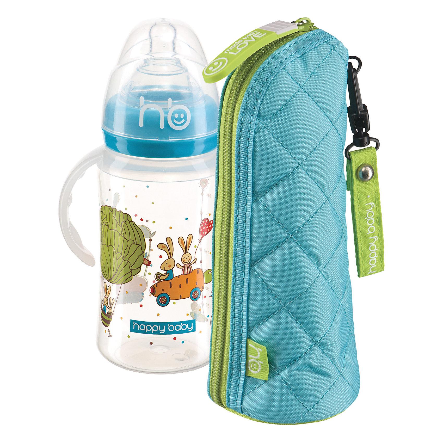 Пенал для бутылочек THERMO CASE FOR BOTTLES, Happy Baby, ментоловыйАксессуары для бутылочек и поильников<br>Пенал для бутылочек от Happy Baby - прекрасный вариант для прогулок и путешествий! Футляр позволяет дольше сохранять нужную температуру питья, застегивается на молнию, выполнен из плотной ткани с фольгированной прослойкой, имеет оригинальный стильный дизайн. <br><br>Дополнительная информация:<br><br>- Материал: полиэстер, фольгированная ткань.<br>- Размер: 9х18 см. <br>- Дольше сохраняет температуру.<br>- Застегивается на молнию. <br>- Удобное крепление на кнопке.<br>- Подходит для всех бутылочек.<br><br>Пенал для бутылочек THERMO CASE FOR BOTTLES, Happy Baby, (Хеппи Беби), ментоловый, можно купить в нашем магазине.<br><br>Ширина мм: 90<br>Глубина мм: 180<br>Высота мм: 250<br>Вес г: 68<br>Возраст от месяцев: 0<br>Возраст до месяцев: 36<br>Пол: Унисекс<br>Возраст: Детский<br>SKU: 4146884