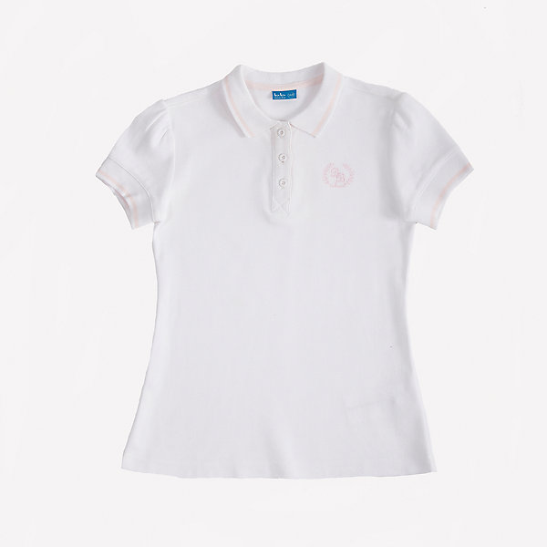 Футболка-поло для девочки Button BlueБлузки и рубашки<br>Стильное поло с коротким рукавом из белоснежного трикотажного пике - прекрасная альтернатива текстильной блузке. Поло подарит девочке комфорт и свободу движений, не нарушив школьного дресскода. В отделке модели небольшая фирменная вышивка.<br>Состав:<br>100% хлопок<br><br>Ширина мм: 230<br>Глубина мм: 40<br>Высота мм: 220<br>Вес г: 250<br>Цвет: белый<br>Возраст от месяцев: 72<br>Возраст до месяцев: 84<br>Пол: Женский<br>Возраст: Детский<br>Размер: 122,140,128,152,146,134,158<br>SKU: 4147292