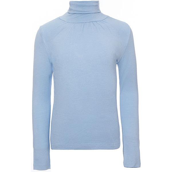 Водолазка для девочки Button BlueВодолазки<br>Мягкая светлая водолазка из нежной трикотажной вискозы - прекрасное решение на каждый день! Защипы в области горловины придают изделию элегантность.<br>Состав:<br>95% вискоза 5%эластан<br><br>Ширина мм: 230<br>Глубина мм: 40<br>Высота мм: 220<br>Вес г: 250<br>Цвет: голубой<br>Возраст от месяцев: 72<br>Возраст до месяцев: 84<br>Пол: Женский<br>Возраст: Детский<br>Размер: 122,146,128,158,152,140,134<br>SKU: 4147308