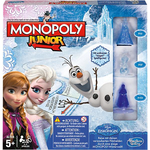 Игра Монополия Юниор, Холодное сердце, Hasbro