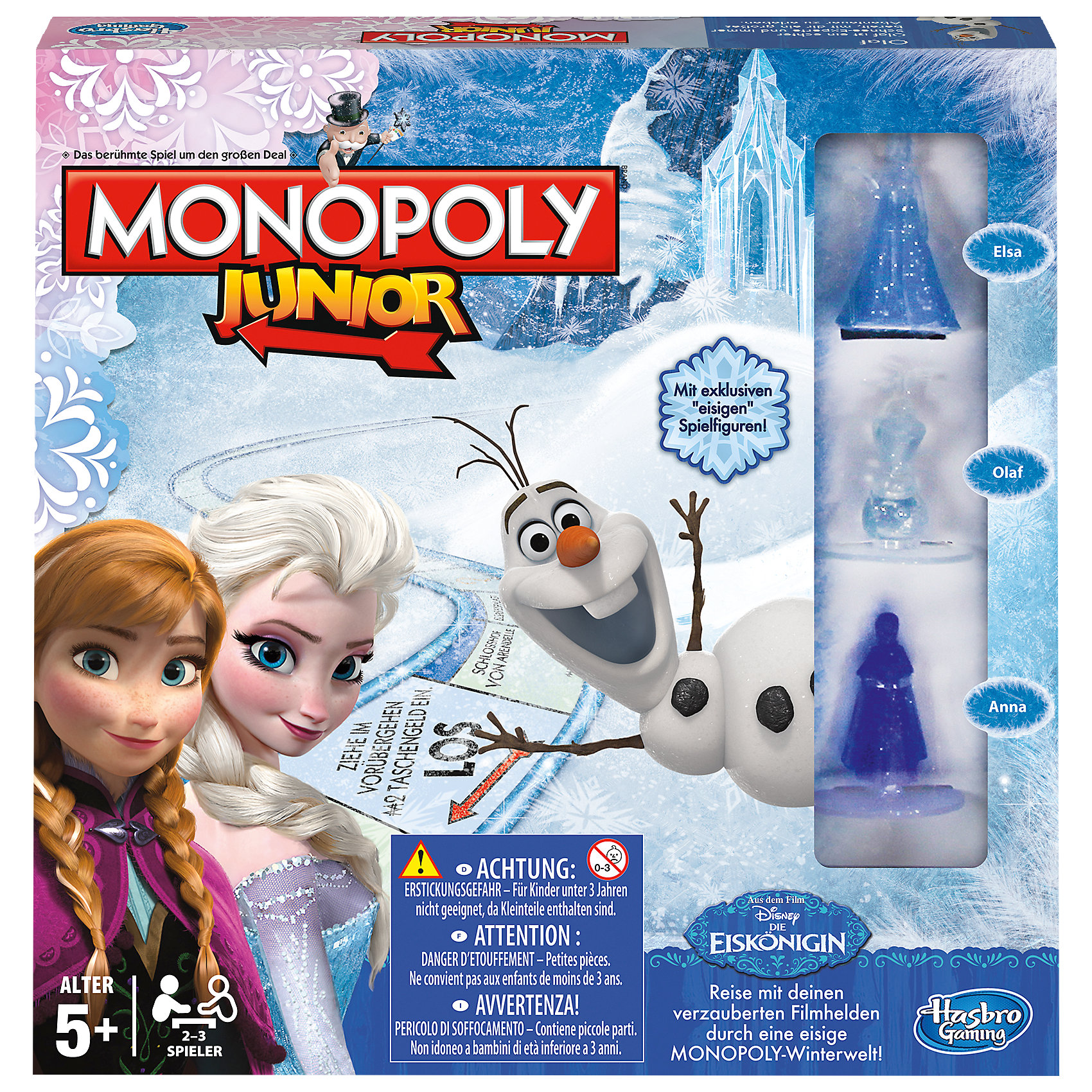 Hasbro Игра Монополия Юниор, Холодное сердце, Hasbro монополия