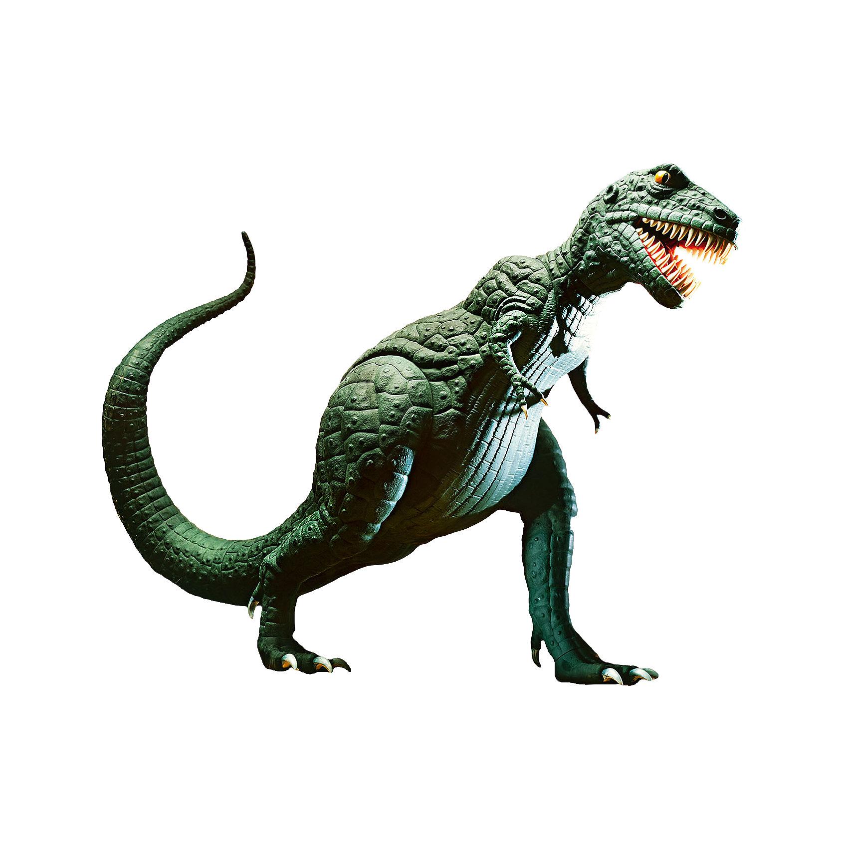 Тиранозавр Рекс, RevellДраконы и динозавры<br>Характеристики товара:<br><br>• возраст от 10 лет;<br>• материал: пластик;<br>• в комплекте: 51 деталь, 4 банки с краской, кисточка, клей;<br>• высота собранной модели 70 см;<br>• масштаб 1:13;<br>• размер упаковки 60х42,5х11,7 см;<br>• вес упаковки 2 кг;<br>• страна производитель: Польша.<br><br>Сборная модель «Тираннозавр Рекс» Revell позволит познакомиться с миром доисторических обитателей нашей планеты и собрать модель одного из опасных хищников — Тираннозавра. Все детали легко соединяются между собой без дополнительных инструментов, для прочности они склеиваются между собой. Готовую модель детям предстоит самостоятельно раскрасить акриловыми красками. Такое занятие, не только увлечет ребенка но и способствует развитию моторики рук, логического мышления, усидчивости.<br><br>Тираннозавра Рекс Revell можно приобрести в нашем интернет-магазине.<br><br>Ширина мм: 604<br>Глубина мм: 426<br>Высота мм: 124<br>Вес г: 1807<br>Возраст от месяцев: 120<br>Возраст до месяцев: 180<br>Пол: Мужской<br>Возраст: Детский<br>SKU: 4150236