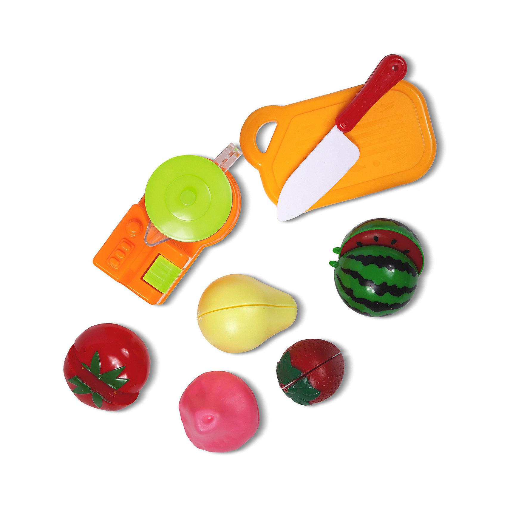 Кухонный набор Фруктовое наслаждение, ALTACTOКто хочет свежевыжатый сок? Теперь ребёнок может легко приготовить соки из разных фруктов, ягод и овощей, которые найдёт в наборе. Здесь есть арбуз, груша, клубника, помидор и другие продукты ярких, сочных цветов, а также блендер, доска и нож<br><br>Ширина мм: 350<br>Глубина мм: 270<br>Высота мм: 60<br>Вес г: 186<br>Возраст от месяцев: 36<br>Возраст до месяцев: 72<br>Пол: Унисекс<br>Возраст: Детский<br>SKU: 4150550