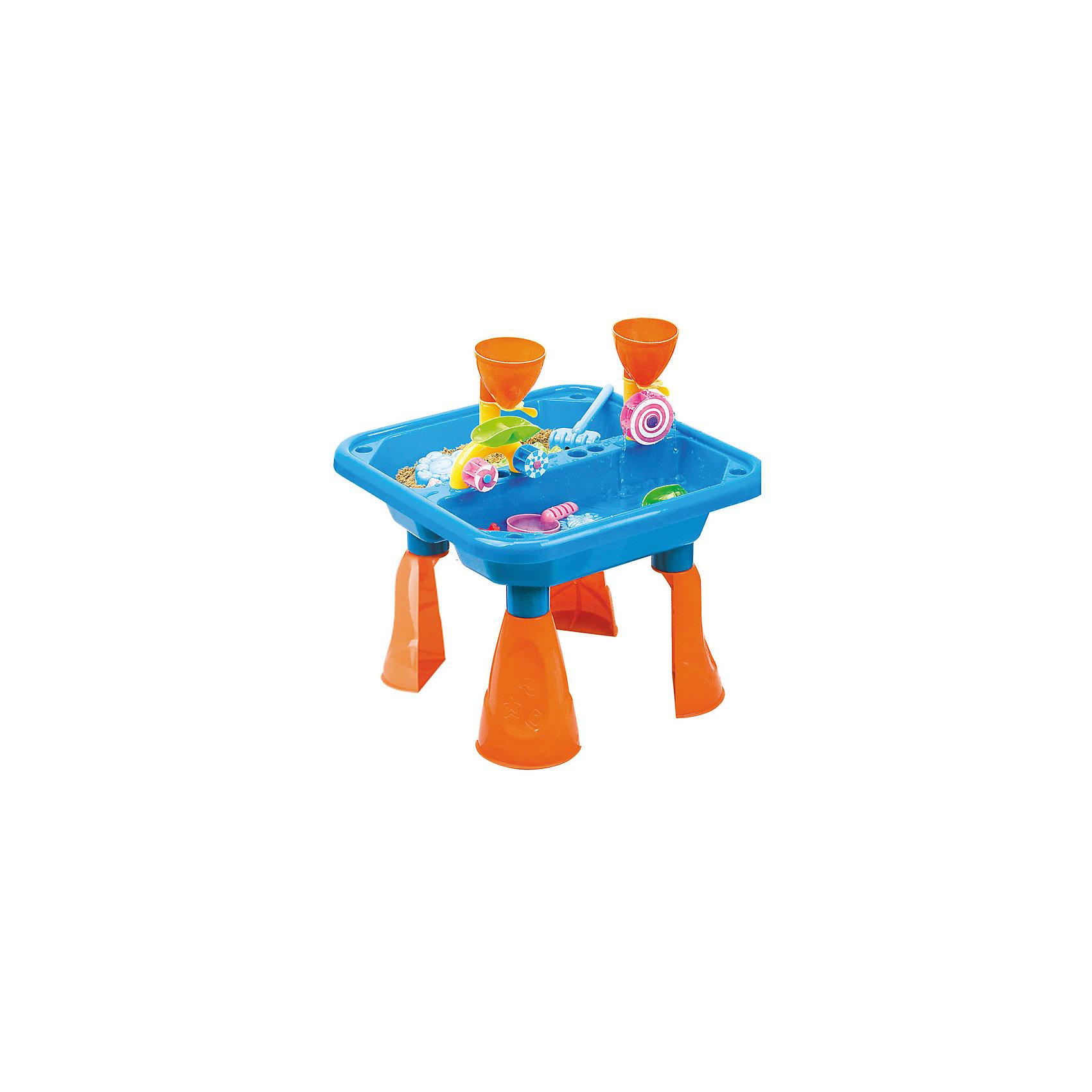 Стол для игр с песком и водой Водяные мельницы, Hualian ToysВеселый набор для игр с песком Водяные мельницы - для будущих инженеров. Приобщайте ребенка к науке с самого детства в игровой форме! (в комплекте набор для песка  из 18 предметов, 48*48*H36)<br><br>Ширина мм: 483<br>Глубина мм: 160<br>Высота мм: 483<br>Вес г: 2000<br>Возраст от месяцев: 36<br>Возраст до месяцев: 72<br>Пол: Унисекс<br>Возраст: Детский<br>SKU: 4150558