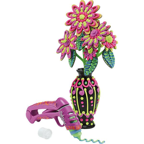 Набор для творчества Ваза дизайнера, DohVinciНаборы для лепки<br>Создать уникальную вазу теперь можно вместе с набором «Ваза дизайнера».<br>В наборе для творчества «Ваза дизайнера»  есть все необходимое для уникательного дизайна вазы и букета.<br><br>Ширина мм: 311<br>Глубина мм: 302<br>Высота мм: 53<br>Вес г: 422<br>Возраст от месяцев: 72<br>Возраст до месяцев: 120<br>Пол: Женский<br>Возраст: Детский<br>SKU: 4156429