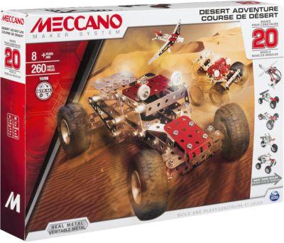 Spin Master Набор Приключения В Пустыне (20 Моделей) , Meccano
