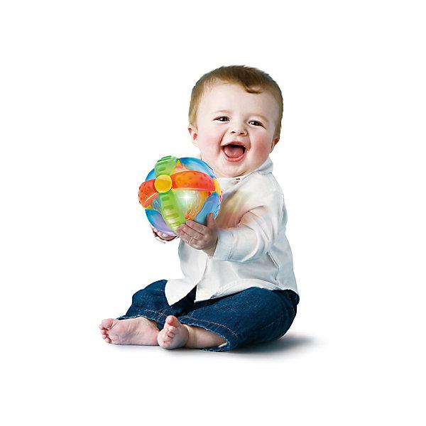 Игрушка  Шар-цветок, BKidsИнтерактивные игрушки для малышей<br>Игрушка  Шар-цветок, Bkids (Б Кидс) отлично подойдет для самых маленьких детей. Она оснащена световыми и звуковыми эффектами. Потрясите или покатайте шарик - лампочки будут быстро мигать, а музыка заиграет громче. Материалы, использованные при изготовлении игрушки полностью безопасны для ребенка. Подарите крохе увлекательную игрушку и она обязательно развеселит его!<br><br>Дополнительная информация:<br>Размер упаковки: 16,5х6,35х20,3 см<br>Материал: пластик<br>Батарейки: LR44 - 3шт. (входят в комплект)<br><br>Игрушку Шар-цветок, Bkids (Б Кидс) можно приобрести в нашем интернет-магазине.<br><br>Ширина мм: 210<br>Глубина мм: 208<br>Высота мм: 154<br>Вес г: 305<br>Возраст от месяцев: 6<br>Возраст до месяцев: 24<br>Пол: Унисекс<br>Возраст: Детский<br>SKU: 4159340