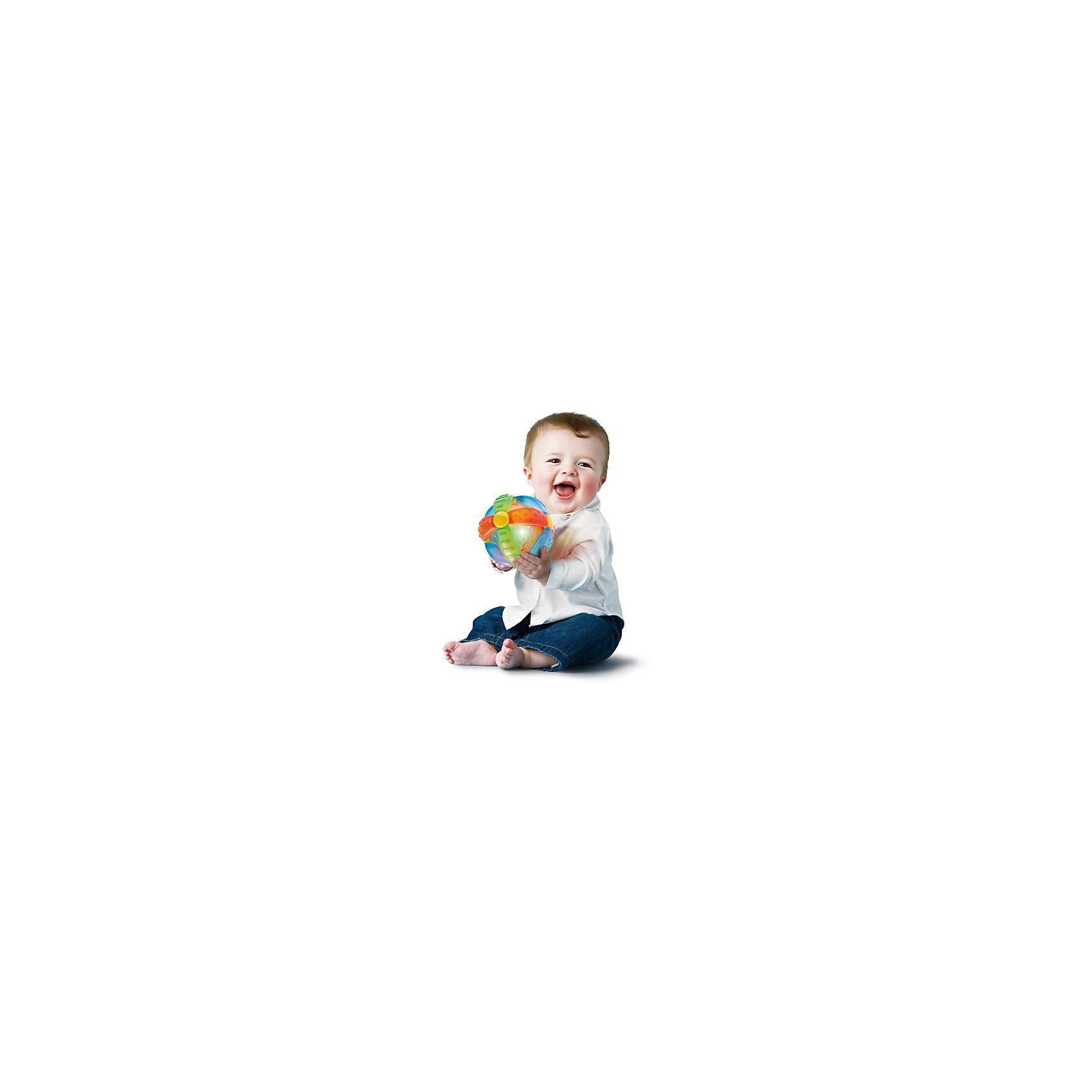 Игрушка  Шар-цветок, BKidsРазвивающие игрушки<br>Игрушка  Шар-цветок, Bkids (Б Кидс) отлично подойдет для самых маленьких детей. Она оснащена световыми и звуковыми эффектами. Потрясите или покатайте шарик - лампочки будут быстро мигать, а музыка заиграет громче. Материалы, использованные при изготовлении игрушки полностью безопасны для ребенка. Подарите крохе увлекательную игрушку и она обязательно развеселит его!<br><br>Дополнительная информация:<br>Размер упаковки: 16,5х6,35х20,3 см<br>Материал: пластик<br>Батарейки: LR44 - 3шт. (входят в комплект)<br><br>Игрушку Шар-цветок, Bkids (Б Кидс) можно приобрести в нашем интернет-магазине.<br><br>Ширина мм: 210<br>Глубина мм: 208<br>Высота мм: 154<br>Вес г: 305<br>Возраст от месяцев: 6<br>Возраст до месяцев: 24<br>Пол: Унисекс<br>Возраст: Детский<br>SKU: 4159340
