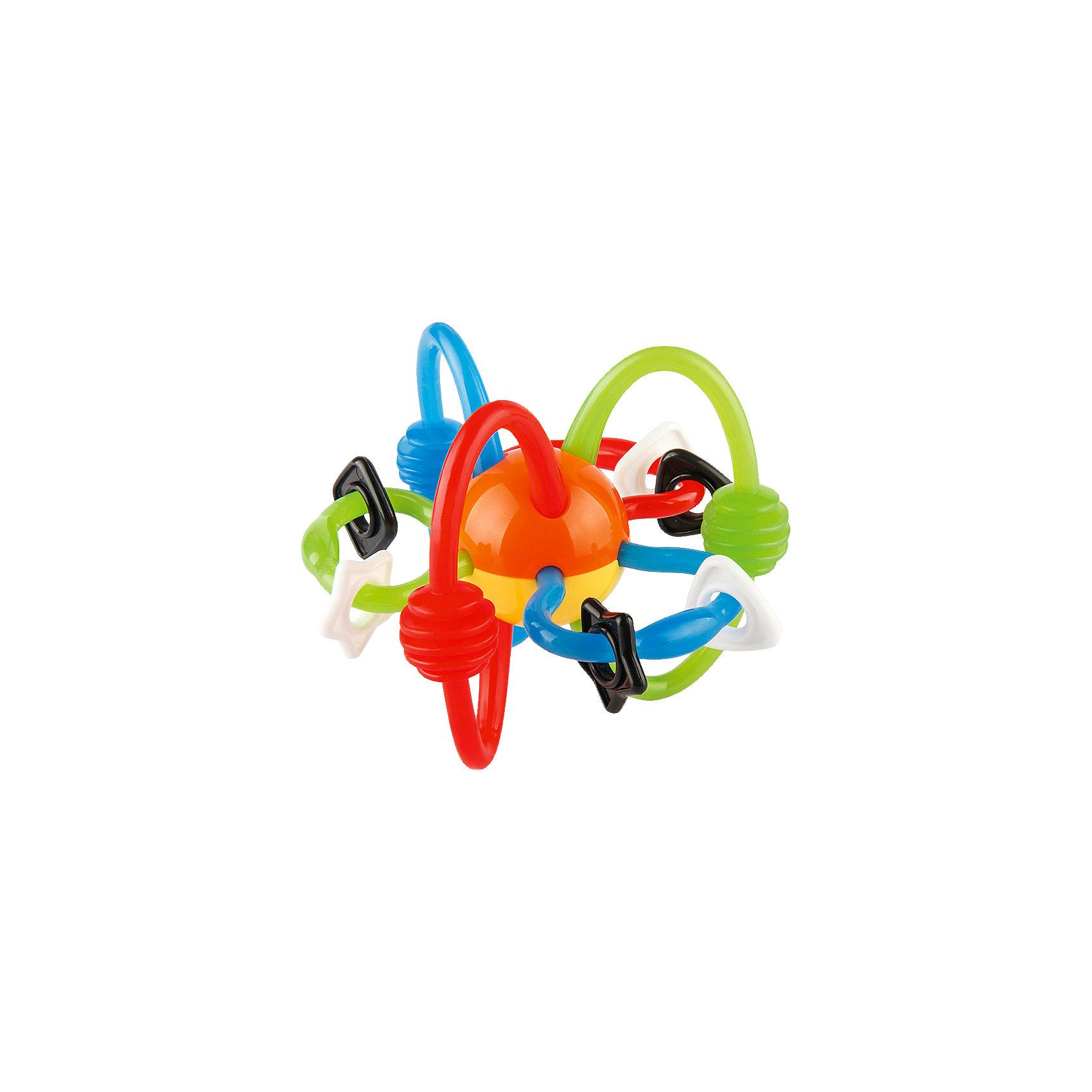 Игрушка Паучок, BkidsРазвивающие игрушки<br>Игрушка Паучок, Bkids (Б Кидс) - интересный прорезыватель, который можно использовать и как игрушку. Все детали Паучка забавно двигаются и помогут крохе забыть о болезненных ощущениях в период прорезывания зубов. Дуги, присоединенные к шару можно грызть. Игрушка развивает логику и пространственное мышление и отлично подойдет для самых маленьких.<br><br>Дополнительная информация:<br>Диаметр игрушки: 16 см<br>Размер упаковки: 10,16х11,43 см<br><br>Игрушку Паучок, Bkids (Б Кидс) можно купить в нашем интернет-магазине.<br><br>Ширина мм: 170<br>Глубина мм: 93<br>Высота мм: 125<br>Вес г: 67<br>Возраст от месяцев: 0<br>Возраст до месяцев: 12<br>Пол: Унисекс<br>Возраст: Детский<br>SKU: 4159345