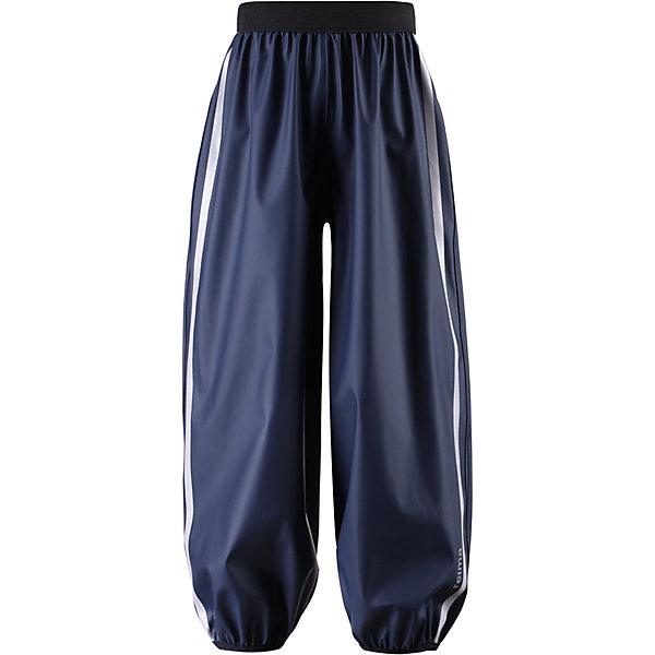 Брюки непромокаемые для мальчика ReimaВерхняя одежда<br>Брюки непромокаемые для мальчика от финской марки Reima.<br><br>* Гибкий и прочный, не содержит ПВХ<br>* Водонепроницаемые, запаянные швы<br>* Эластичная талия<br>* Съемные штрипки<br><br>Состав:<br>100% Полиэстер<br>Ширина мм: 215; Глубина мм: 88; Высота мм: 191; Вес г: 336; Цвет: синий; Возраст от месяцев: 48; Возраст до месяцев: 60; Пол: Мужской; Возраст: Детский; Размер: 110,134,152,146,140,128,104,116,122; SKU: 4161300;