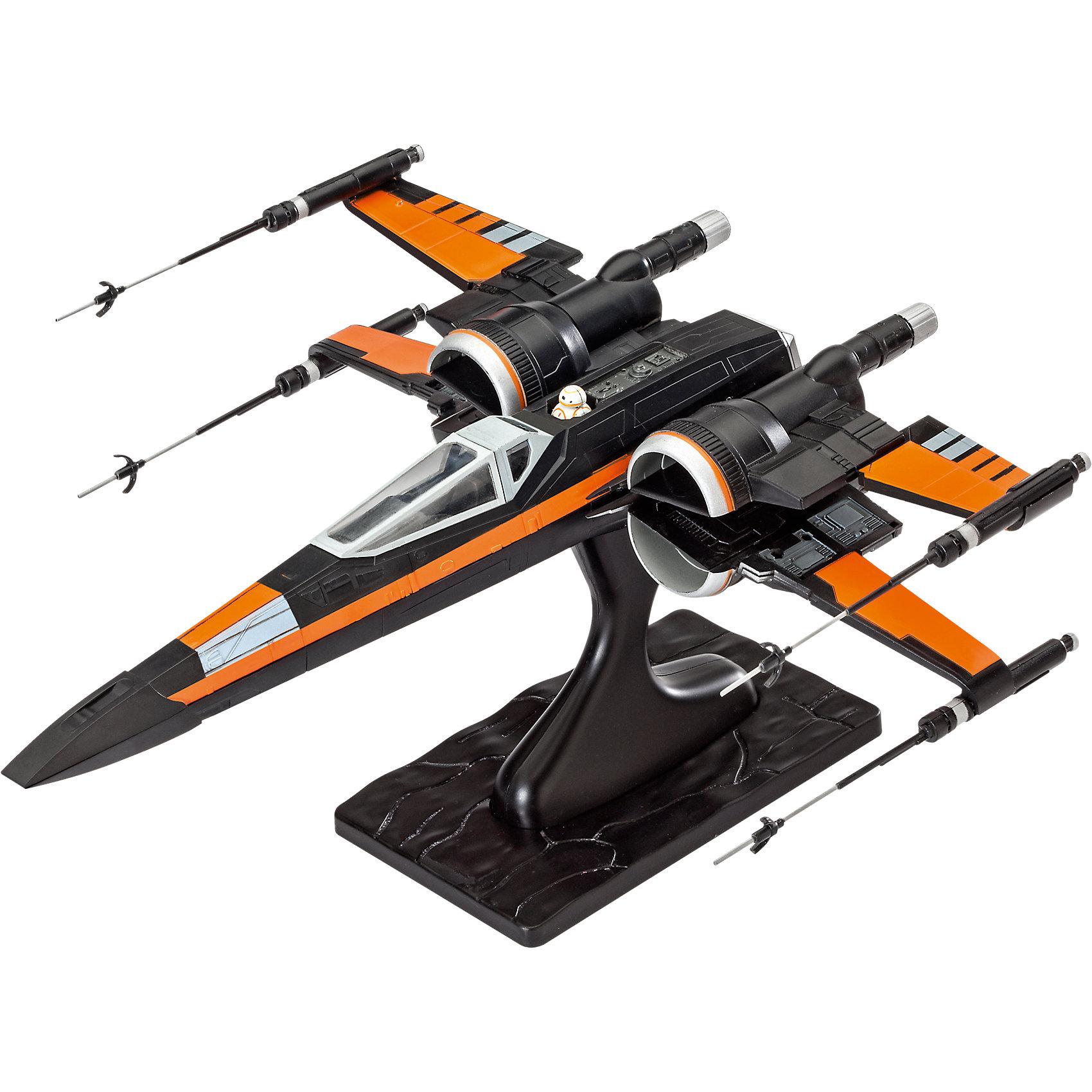 Сборная модель Звездные войны «Истребитель По» (1:50), EasykitМодели для склеивания<br>Сборная модель Звездные войны «Истребитель По», Easykit, является точной копией истребителя из фильма Звездные войны. Корпус самолета имеет интересный дизайн и очень детализирован. Черный самолет с серыми и оранжевыми вставками не сможет оставить без внимания мальчика. Истребитель имеет внешние ракетные установки. Кабина вмещает одного пилота. Собирая данную модель, юный конструктор очутиться в мире фантастических приключений космоса. Собранная модель истребителя отлично украсит стол или книжную полку ребенка.  <br>Модель истребителя выполнена в масштабе 1:78.  <br>Количество элементов: 55. Размер собранной модели: 25,1х22,4.  <br>Сборная модель продается в красочной коробке из плотного картона.  <br>Рекомендуемый возраст: от 6 лет.<br><br>Ширина мм: 368<br>Глубина мм: 241<br>Высота мм: 78<br>Вес г: 402<br>Возраст от месяцев: 96<br>Возраст до месяцев: 156<br>Пол: Мужской<br>Возраст: Детский<br>SKU: 4161716