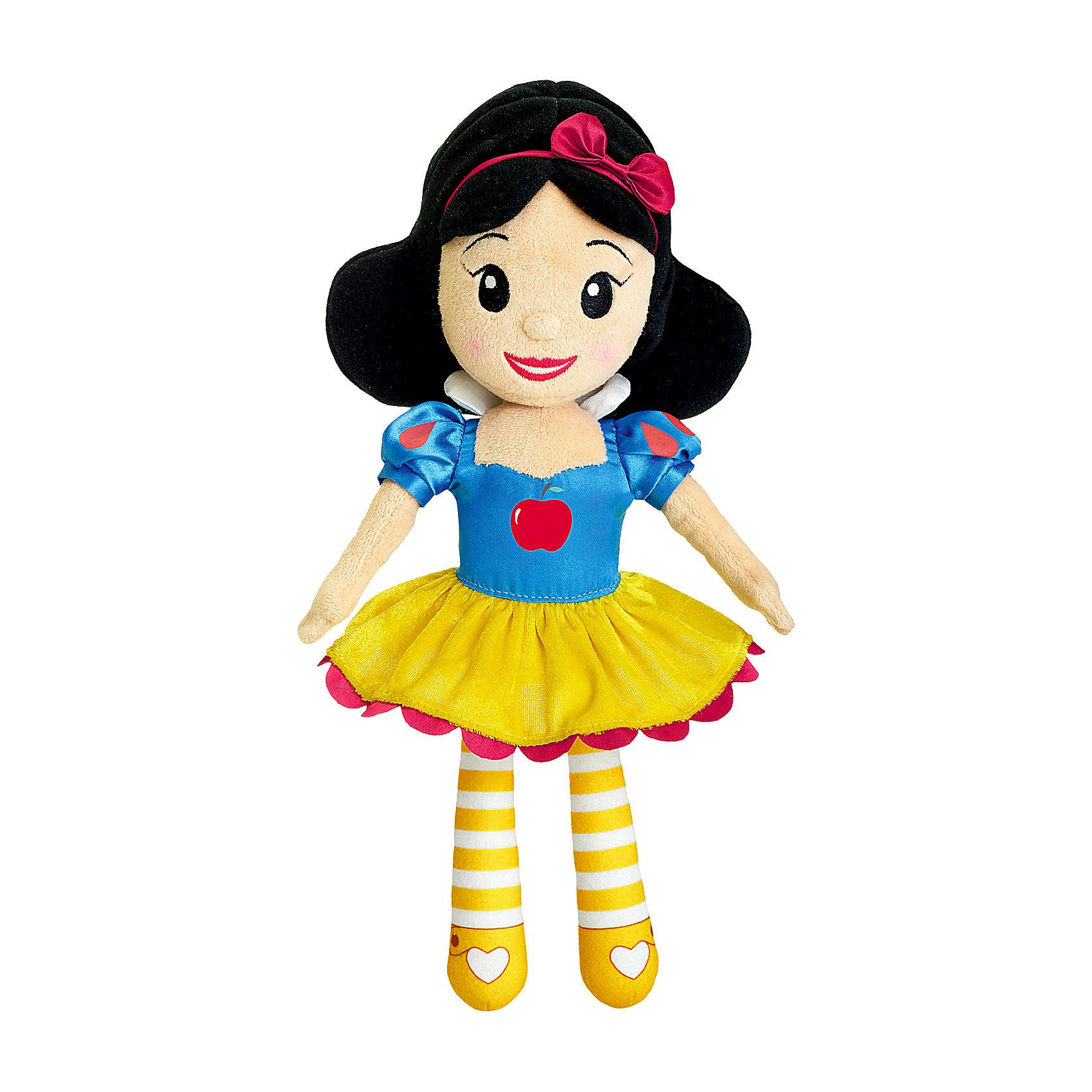 Мягкая игрушка с мелодией Белоснежка, Disney, CHICCOМягкая игрушка с мелодией Белоснежка, Disney, CHICCO (ЧИКО) – эта музыкальная кукла перенесет девочку в магический мир Принцесс Disney.<br>Кукла «Белоснежка» сделана из мягкой ткани и прекрасно подойдет для малышек с 18 месяцев. Наряд принцессы точно повторяет платье героини мультфильма, а аккуратно уложенную прическу украшает яркий ободок с бантом. Если нажать на животик Белоснежки, то вы услышите приятные мелодии, которые напомнят чудесную историю этой принцессы из всеми любимого анимационного фильма. Мягкая привлекательная кукла станет любимой игрушкой вашей маленькой принцессы!<br><br>Дополнительная информация:<br><br>- Размер куклы: 35 см.<br>- Материал: текстиль, наполнитель<br>- Батарейки: 3 х LR44 1,5 В (включены в комплект)<br>- Размер упаковки: 39 х 15 х 10 см.<br>- Уход: допускается машинная стирка игрушки при 30 градусах, предварительно вынув электронный модуль<br><br>Мягкую игрушку с мелодией Белоснежка, Disney, CHICCO (ЧИКО) можно купить в нашем интернет-магазине.<br><br>Ширина мм: 150<br>Глубина мм: 102<br>Высота мм: 398<br>Вес г: 425<br>Возраст от месяцев: 18<br>Возраст до месяцев: 36<br>Пол: Женский<br>Возраст: Детский<br>SKU: 4162845