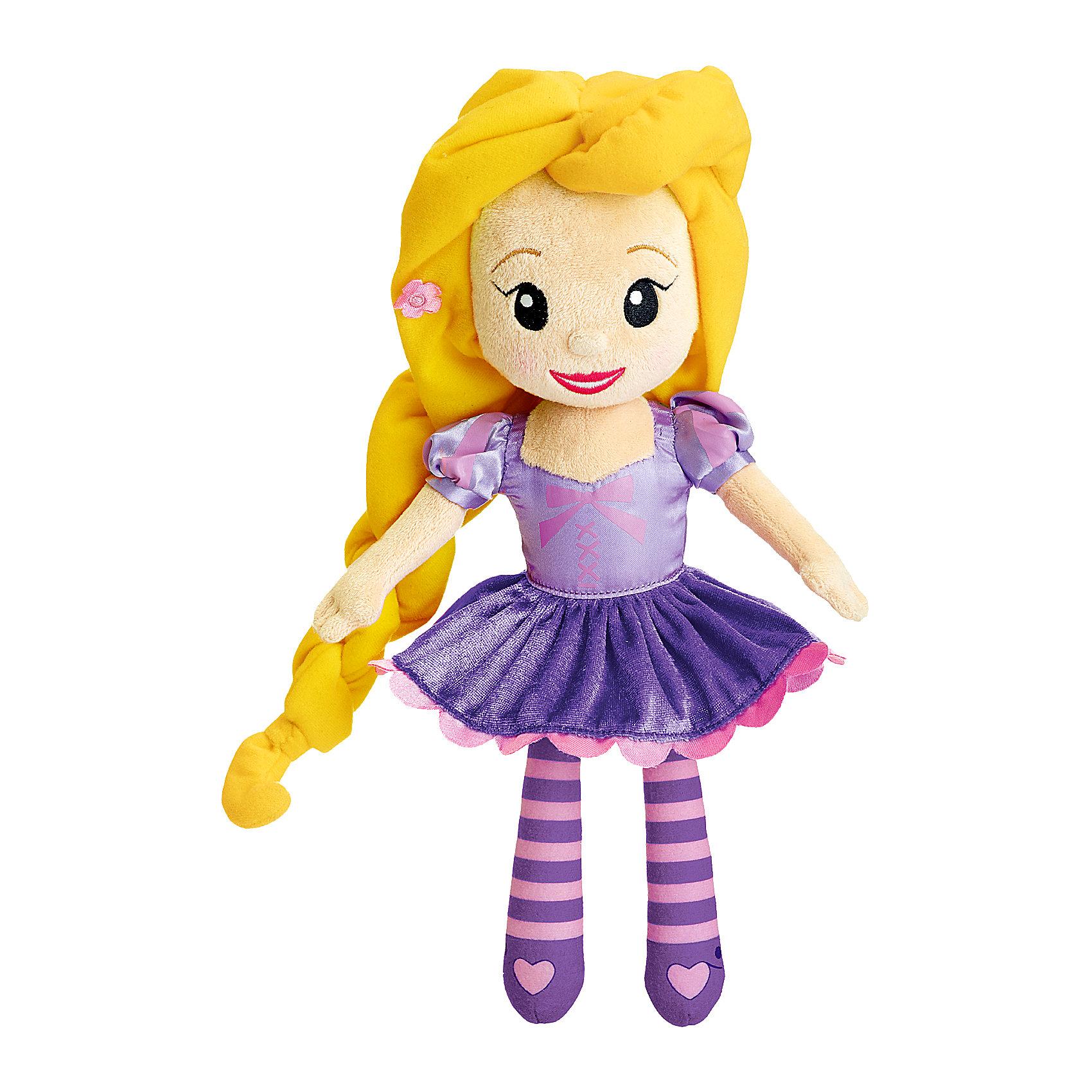 Мягкая игрушка с мелодией Рапунцель, Disney, CHICCOМягкая игрушка с мелодией Рапунцель, Disney, CHICCO (ЧИКО) – эта музыкальная кукла перенесет девочку в магический мир Принцесс Disney.<br>Кукла «Рапунцель» сделана из мягкой ткани и прекрасно подойдет для малышек с 18 месяцев. Кукла одета в нарядное платье, ее роскошные волосы уложены в объемную косу, украшенную цветами. Если нажать на животик Рапунцель, то вы услышите приятные мелодии, которые напомнят чудесную историю этой принцессы из всеми любимого анимационного фильма. Мягкая привлекательная кукла станет любимой игрушкой вашей маленькой принцессы!<br><br>Дополнительная информация:<br><br>- Размер куклы: 35 см.<br>- Материал: текстиль, наполнитель<br>- Батарейки: 3 х LR44 1,5 В (включены в комплект)<br>- Размер упаковки: 39 х 15 х 10 см.<br>- Уход: допускается машинная стирка игрушки при 30 градусах, предварительно вынув электронный модуль<br><br>Мягкую игрушку с мелодией Рапунцель, Disney, CHICCO (ЧИКО) можно купить в нашем интернет-магазине.<br><br>Ширина мм: 396<br>Глубина мм: 164<br>Высота мм: 109<br>Вес г: 344<br>Возраст от месяцев: 18<br>Возраст до месяцев: 36<br>Пол: Женский<br>Возраст: Детский<br>SKU: 4162846