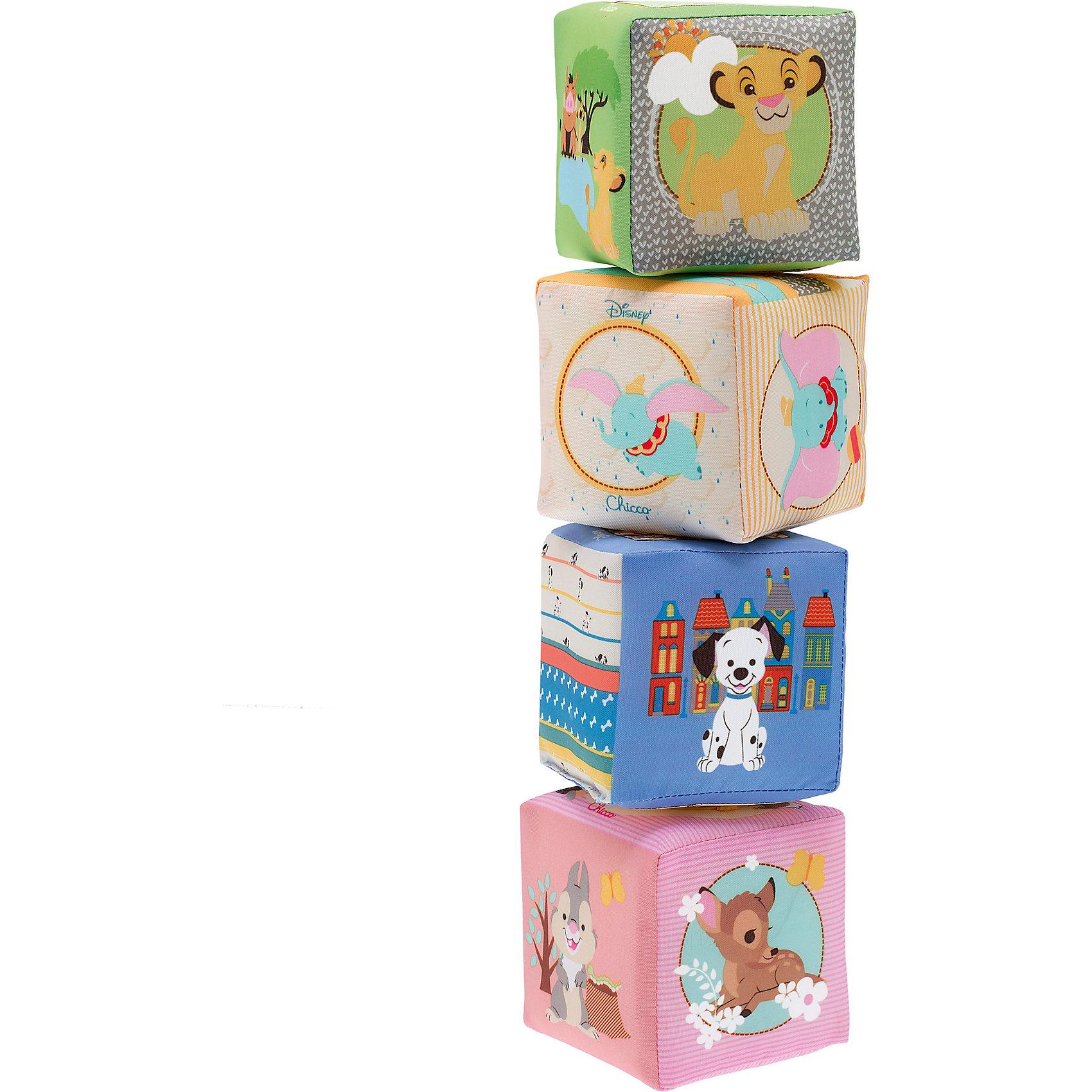 "Мягкие кубики ""Бэмби"", Disney, CHICCO от myToys"
