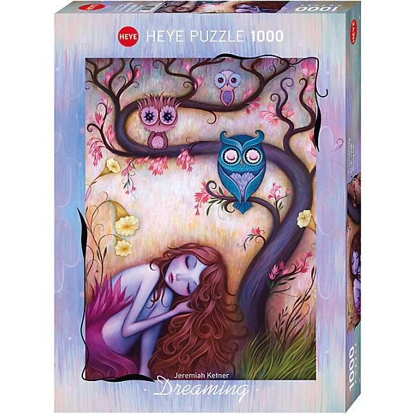 Пазл Дерево желаний, 1000 деталей, HeyeПазлы классические<br>Jeremiah Ketner (Джереми Кетнер) - художник из Чикаго (США), который известен своими яркими сказочными картинами  с изображением мифических существ, кошек и дремлющих девушек. В работе художник  вдохновляется японской культурой: манго и модерн, а также черпает вдохновение из окружающей природы.<br><br>Дополнительная информация:<br><br>Художник: Jeremiah Ketner<br>Размер готовой картинки: 50 х 70 см<br><br>Пазл Дерево желаний, 1000 деталей, Heye можно купить в нашем магазине.<br>Ширина мм: 371; Глубина мм: 271; Высота мм: 55; Вес г: 840; Возраст от месяцев: 192; Возраст до месяцев: 216; Пол: Унисекс; Возраст: Детский; Количество деталей: 1000; SKU: 4163051;