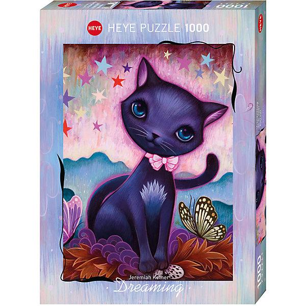 Пазл Черный котенок, 1000 деталей, HeyeПазлы классические<br>Jeremiah Ketner (Джереми Кетнер) - художник из Чикаго (США), который известен своими яркими сказочными картинами  с изображением мифических существ, кошек и дремлющих девушек. В работе художник  вдохновляется японской культурой: манго и модерн, а также черпает вдохновение из окружающей природы.<br><br>Дополнительная информация:<br><br>Художник: Jeremiah Ketner<br>Размер готовой картинки: 50 х 70 см<br><br>Пазл Черный котенок, 1000 деталей, Heye можно купить в нашем магазине.<br>Ширина мм: 371; Глубина мм: 271; Высота мм: 55; Вес г: 840; Возраст от месяцев: 192; Возраст до месяцев: 216; Пол: Унисекс; Возраст: Детский; Количество деталей: 1000; SKU: 4163058;