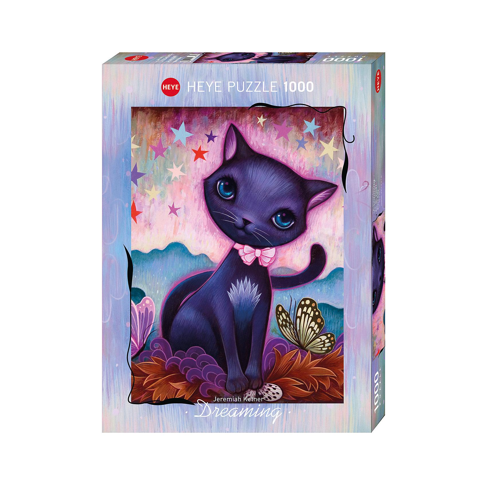 HEYE Пазл Черный котенок, 1000 деталей, Heye heye пазл эйфелева башня heye 1000 деталей