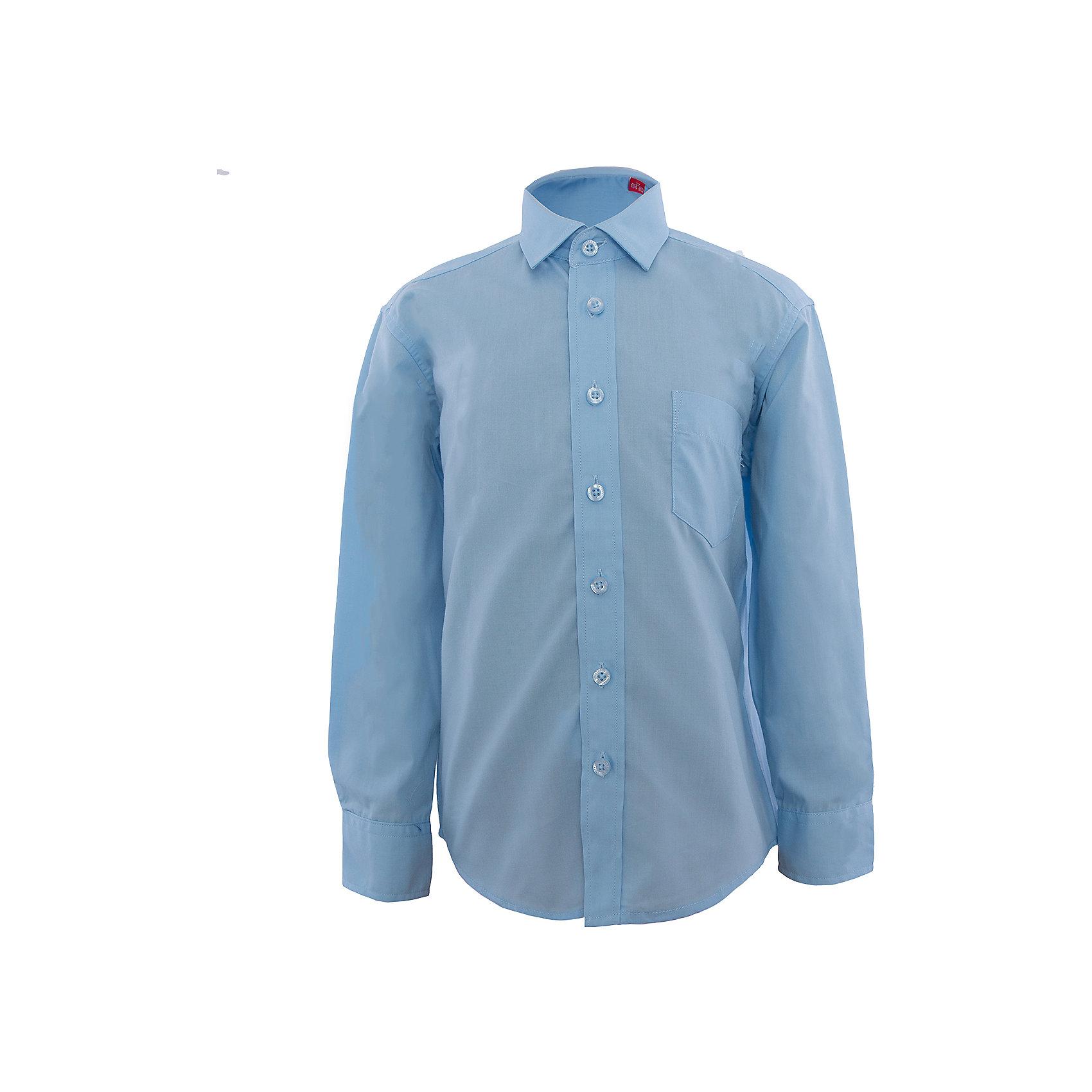 Рубашка для мальчика ImperatorРубашка для мальчика от российской марки Imperator.<br>Состав:<br>55% хлопок 45% полиэстер<br><br>Ширина мм: 174<br>Глубина мм: 10<br>Высота мм: 169<br>Вес г: 157<br>Цвет: голубой<br>Возраст от месяцев: 48<br>Возраст до месяцев: 60<br>Пол: Мужской<br>Возраст: Детский<br>Размер: 104/110,98/104,92/98,116/122,110/116<br>SKU: 4163564