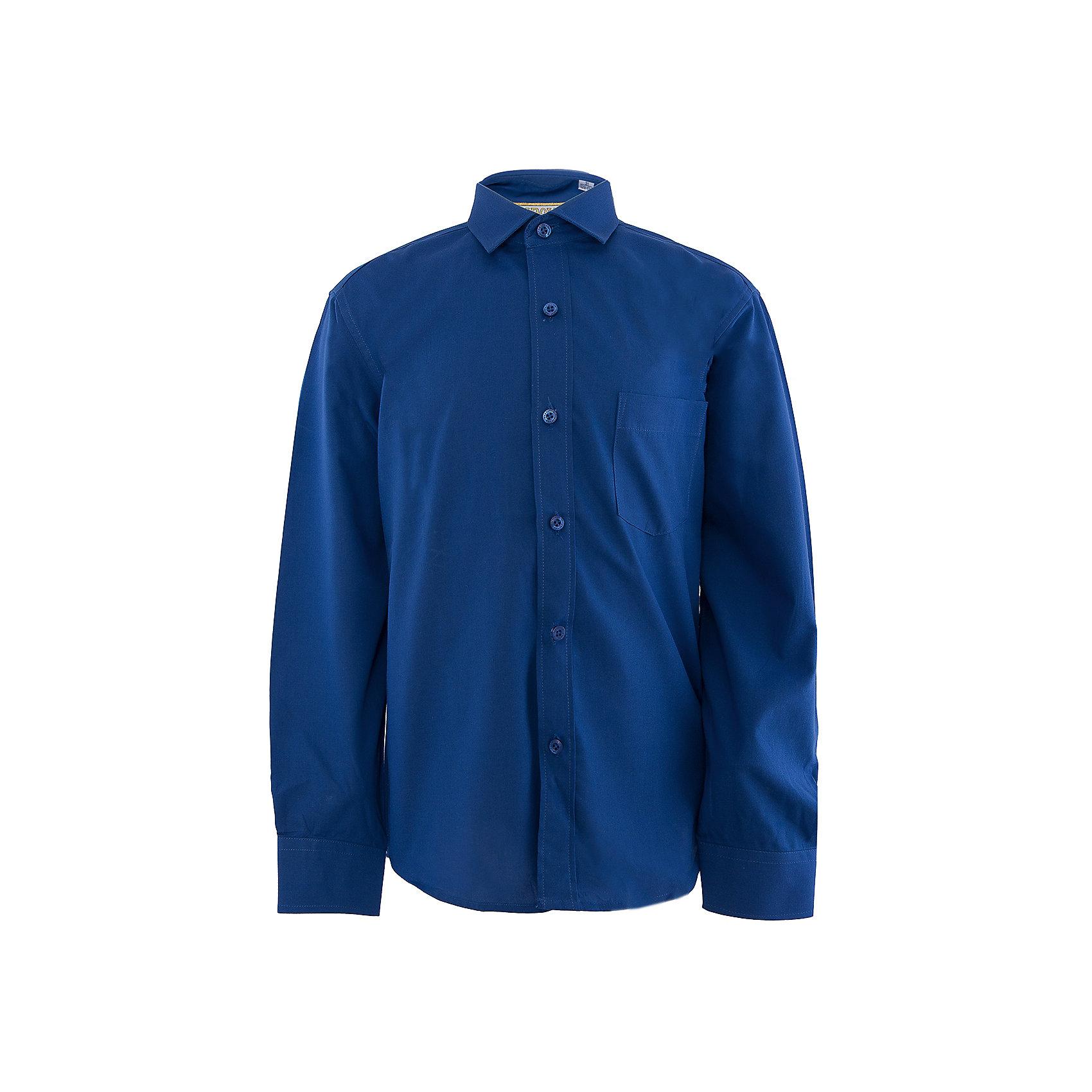 Рубашка для мальчика  TsarevichБлузки и рубашки<br>Рубашка для мальчика от российской марки Tsarevich.<br>Состав:<br>80% хлопок  20% полиэстер<br><br>Ширина мм: 174<br>Глубина мм: 10<br>Высота мм: 169<br>Вес г: 157<br>Цвет: синий<br>Возраст от месяцев: 108<br>Возраст до месяцев: 120<br>Пол: Мужской<br>Возраст: Детский<br>Размер: 134/140,158/164,152/158,164/170,146/152,140/146,128/134,122/128<br>SKU: 4163732