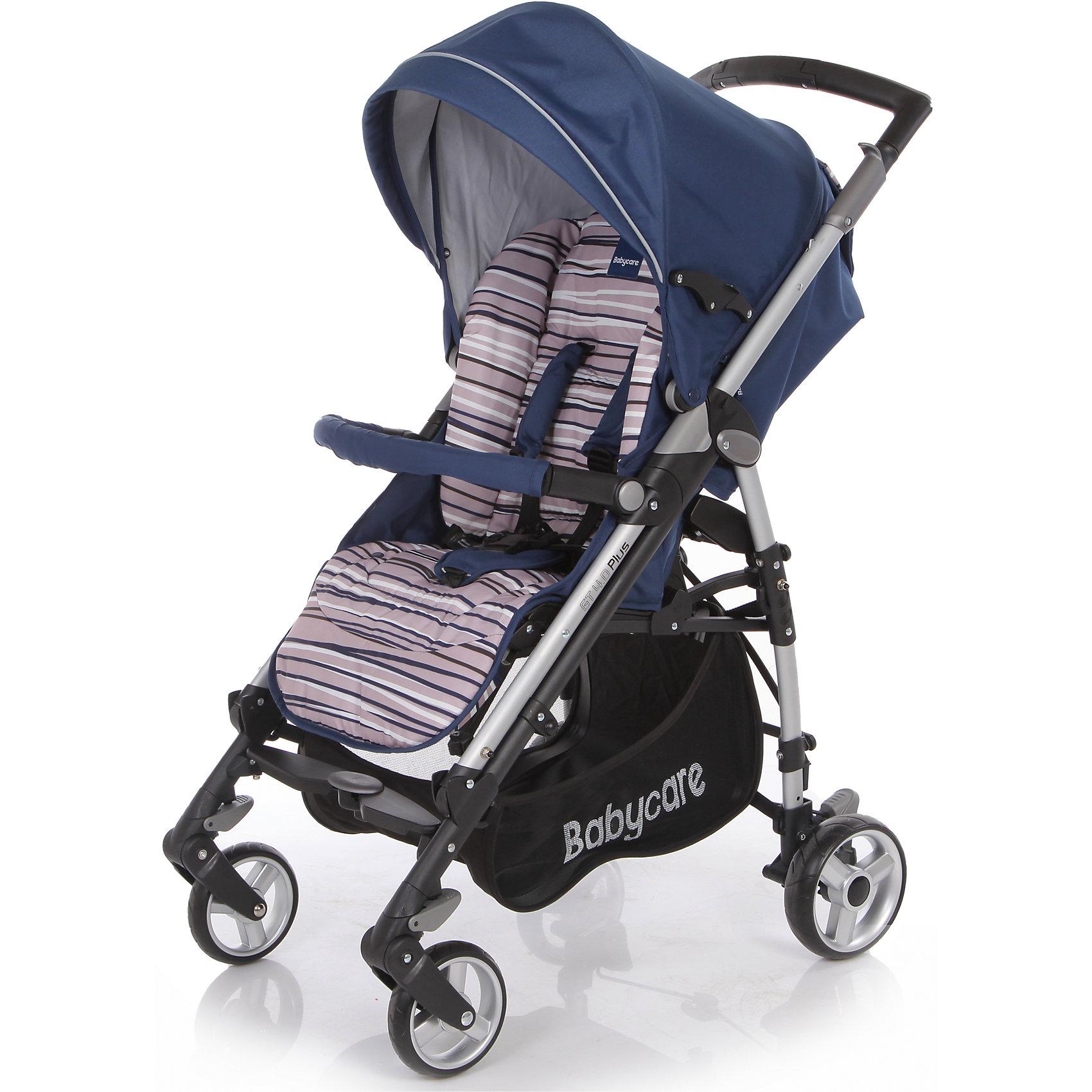 Baby Care Коляска-трость GT4 Plus Baby Care, синий коляска трость baby care gt4 plus grey