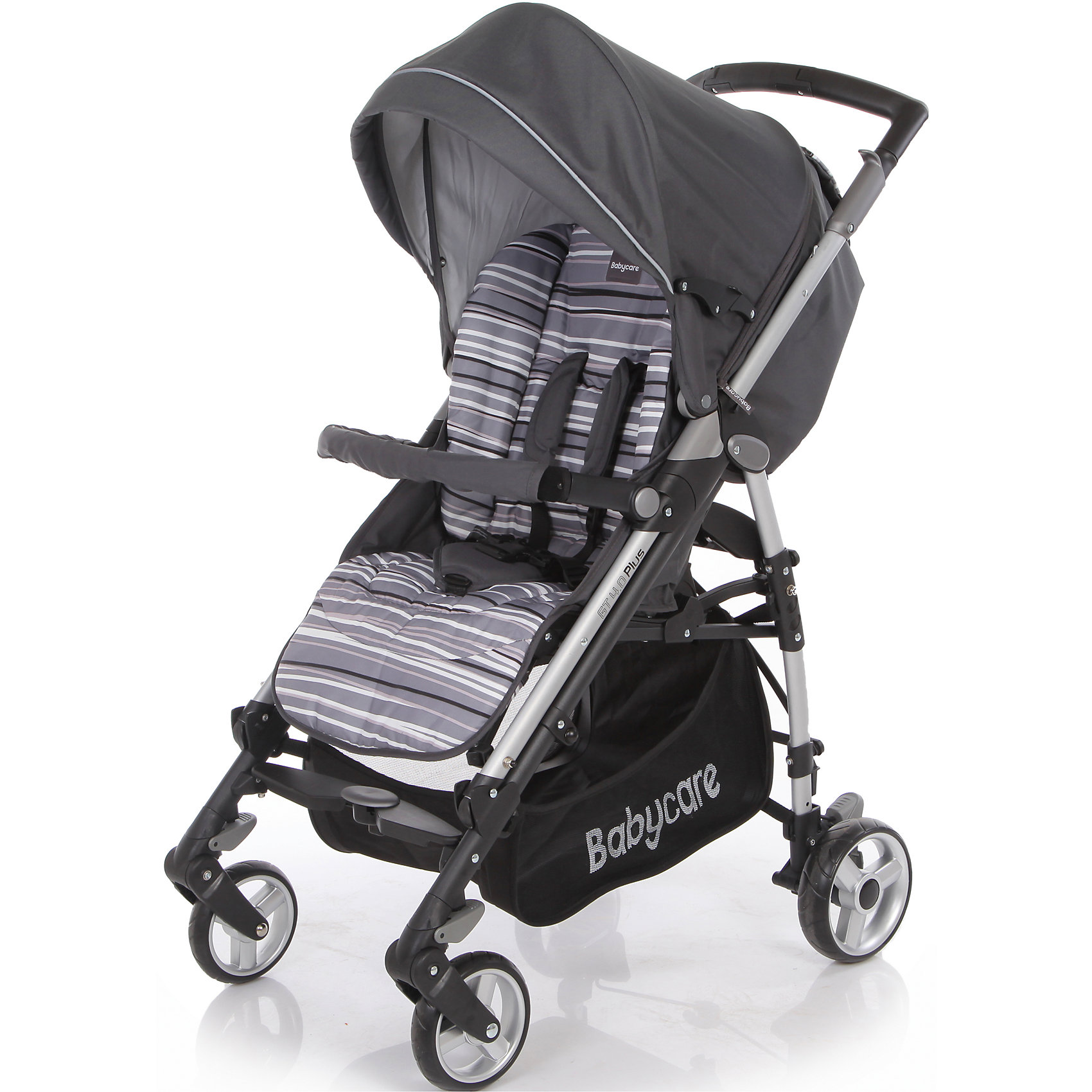 Baby Care Коляска-трость GT4 Plus Baby Care, серый прогулочная коляска cool baby kdd 6699gb t fuchsia light grey