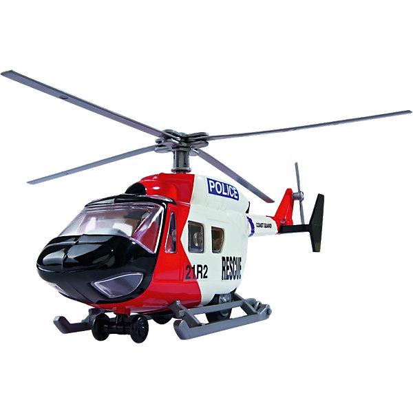 Игровой набор - полицейский катер и вертолет, 26 см, Dickie ToysКорабли и лодки<br>Характеристики:<br><br>• комплектация: катер, вертолет, 2 спасателя, акула; <br>• длина вертолета: 26 см;<br>• длина катера: 21 см;<br>• размер упаковки: 36х18х18 см.<br><br>Команда спасателей отправляется на помощь. Поиски туристов ведутся с моря и воздуха, вызвали поисковый катер и полицейский вертолет. Водолазы в полном снаряжении, в костюмах и с аквалангами, ныряют в морские просторы на помощь утопающему. Сюжетно-ролевая игра с использованием техники, минифигурок и аксессуаров развивает фантазию, воображение и речь ребенка. <br><br>Игровой набор - полицейский катер и вертолет, 26 см, Dickie Toys можно купить в нашем магазине.<br>Ширина мм: 356; Глубина мм: 187; Высота мм: 180; Вес г: 558; Возраст от месяцев: 36; Возраст до месяцев: 84; Пол: Мужской; Возраст: Детский; SKU: 4166255;