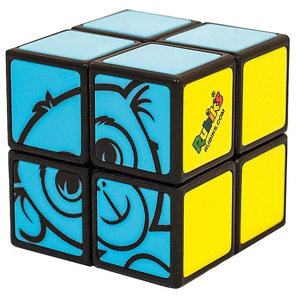 Детский кубик Рубика 2х2Головоломки Кубик Рубика<br>Обновленная в 2015г версия! Кубик Рубика, который сможет собрать каждый! Эта головоломка - не только идеальный способ познакомить ребенка с развивающими играми Рубикс, но еще и отличный способ научиться собирать кубик Рубика 3х3 (для тех кто так и не научился).            Что нового в версии 2015г:      1) Новый механизм и конструкция на база шара, вместо наклеек - пластиковые вставки.      2) Размер игрушки увеличен с 38 до 46мм      3) Новая упаковка блистер-шестигранник.              У кубика Рубика 2х2 для малышей всего 2 цвета, вместо обычных шести - зеленый и розовый, а также картинка: голова обезьянки. Достаточно поставить все 4 кубика зеленой стороны вместе, затем собрать симпатичную обезьянку из четырех розовых кубиков и головоломка решена! Несмотря на кажущуюся простоту, малышу придется хорошенько подумать, ведь тут потребуется и логика, и пространственное воображение - необходимые навыки для победы над более сложными головоломками и логическими задачами.               Упрощенный вариант Кубика Рубика 2х2.     3 возможных задания к этому кубику Рубика. По уровню сложности, от простого к сложному:        1. Собрать только зеленую сторону.        2. Собрать розовую сторону с изображением головы обезьянки.        3. Собрать обе стороны - и зеленую и с обезьянкой.     Возраст: от 5 лет.        Сложность: 1/5        Размер игрушки: 46 x 46 x 46 мм        В комплекте: Головоломка<br><br>Ширина мм: 50<br>Глубина мм: 145<br>Высота мм: 150<br>Вес г: 100<br>Возраст от месяцев: 60<br>Возраст до месяцев: 180<br>Пол: Унисекс<br>Возраст: Детский<br>SKU: 4166718