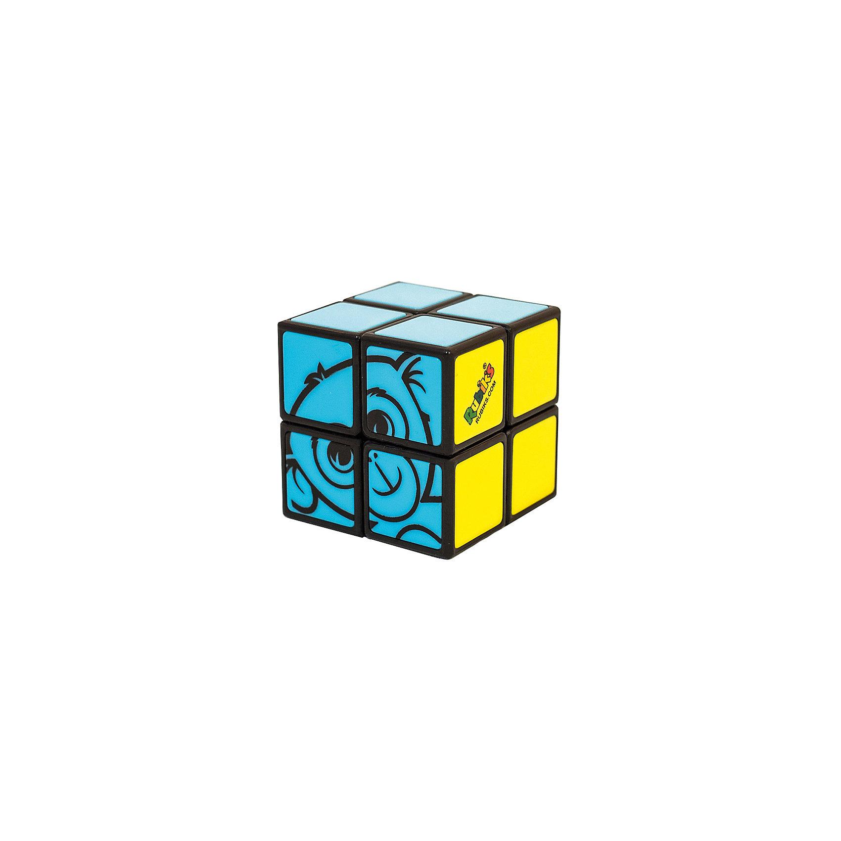 Детский кубик Рубика 2х2Головоломки<br>Обновленная в 2015г версия! Кубик Рубика, который сможет собрать каждый! Эта головоломка - не только идеальный способ познакомить ребенка с развивающими играми Рубикс, но еще и отличный способ научиться собирать кубик Рубика 3х3 (для тех кто так и не научился).            Что нового в версии 2015г:      1) Новый механизм и конструкция на база шара, вместо наклеек - пластиковые вставки.      2) Размер игрушки увеличен с 38 до 46мм      3) Новая упаковка блистер-шестигранник.              У кубика Рубика 2х2 для малышей всего 2 цвета, вместо обычных шести - зеленый и розовый, а также картинка: голова обезьянки. Достаточно поставить все 4 кубика зеленой стороны вместе, затем собрать симпатичную обезьянку из четырех розовых кубиков и головоломка решена! Несмотря на кажущуюся простоту, малышу придется хорошенько подумать, ведь тут потребуется и логика, и пространственное воображение - необходимые навыки для победы над более сложными головоломками и логическими задачами.               Упрощенный вариант Кубика Рубика 2х2.     3 возможных задания к этому кубику Рубика. По уровню сложности, от простого к сложному:        1. Собрать только зеленую сторону.        2. Собрать розовую сторону с изображением головы обезьянки.        3. Собрать обе стороны - и зеленую и с обезьянкой.     Возраст: от 5 лет.        Сложность: 1/5        Размер игрушки: 46 x 46 x 46 мм        В комплекте: Головоломка<br><br>Ширина мм: 50<br>Глубина мм: 145<br>Высота мм: 150<br>Вес г: 100<br>Возраст от месяцев: 60<br>Возраст до месяцев: 180<br>Пол: Унисекс<br>Возраст: Детский<br>SKU: 4166718