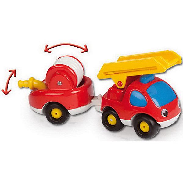 Пожарный грузовик, Vroom Planet, SmobyМашинки<br>Красочный пожарный грузовичок, Vroom Planet, Smoby (Смоби) обязательно понравится всем маленьким любителям автотехники. Он замечательно подойдет для игр как дома, так и на улице. Грузовик ярко красного цвета имеет крупную округлую форму, удобную для детских ручек, без острых углов. Крупные колеса позволят малышу легко катать машинку по любой поверхности. Грузовичок оснащен прицепом с пожарный шлангом, который раскручивается для тушения пожара.<br><br>Дополнительная информация:<br><br>- Материал: пластик.<br>- Размер машинки: 17 см.<br>- Размер упаковки: 7 х 9,5 х 18 см.<br>- Вес: 0,2 кг.<br><br>Пожарный грузовик, Vroom Planet, Smoby (Смоби) можно купить в нашем интернет-магазине.<br><br>Ширина мм: 100<br>Глубина мм: 70<br>Высота мм: 180<br>Вес г: 200<br>Возраст от месяцев: 24<br>Возраст до месяцев: 60<br>Пол: Мужской<br>Возраст: Детский<br>SKU: 4166801