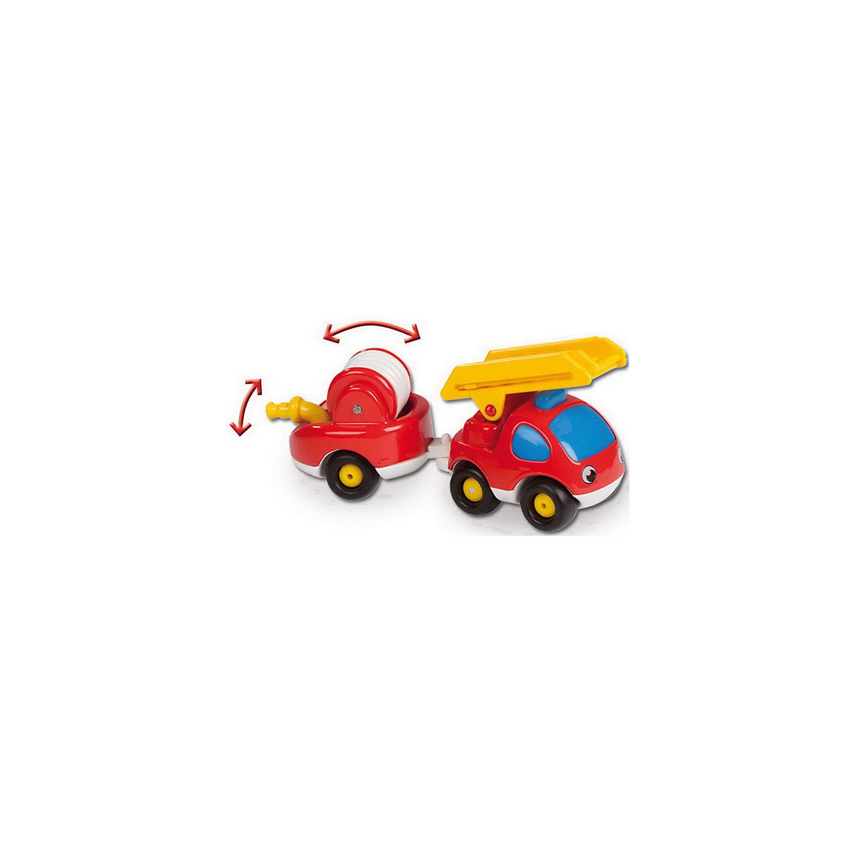 Пожарный грузовик, Vroom Planet, SmobyКрасочный пожарный грузовичок, Vroom Planet, Smoby (Смоби) обязательно понравится всем маленьким любителям автотехники. Он замечательно подойдет для игр как дома, так и на улице. Грузовик ярко красного цвета имеет крупную округлую форму, удобную для детских ручек, без острых углов. Крупные колеса позволят малышу легко катать машинку по любой поверхности. Грузовичок оснащен прицепом с пожарный шлангом, который раскручивается для тушения пожара.<br><br>Дополнительная информация:<br><br>- Материал: пластик.<br>- Размер машинки: 17 см.<br>- Размер упаковки: 7 х 9,5 х 18 см.<br>- Вес: 0,2 кг.<br><br>Пожарный грузовик, Vroom Planet, Smoby (Смоби) можно купить в нашем интернет-магазине.<br><br>Ширина мм: 100<br>Глубина мм: 70<br>Высота мм: 180<br>Вес г: 200<br>Возраст от месяцев: 24<br>Возраст до месяцев: 60<br>Пол: Мужской<br>Возраст: Детский<br>SKU: 4166801