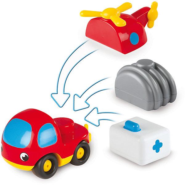 Мини-машинка конструктор Vroom Planet, SmobyМашинки<br>Красочная мини-машинка Vroom Planet, Smoby (Смоби) обязательно понравится самым маленьким любителям автотехники. Этот мини-конструктор позволяет поочередно играть с тремя разными автомобилями. В комплект входит забавная красочная машинка с платформой и три съемных кузова, которые легко прикрепляются к колесной базе. Меняя кузов, малыш получит медицинский фургон, бензовоз или вертолет. Игрушка имеет крупную округлую форму, удобную для детских ручек, без острых углов. Крупные колеса позволят ребенку легко катать машинку по любой поверхности. Набор развивает творческое мышление и воображение, тренирует мелкую моторику.<br><br>Дополнительная информация:<br><br>- Материал: пластик.<br>- Размер машинки (в зависимости от кузова): 42, 23, 26 см.<br>- Размер упаковки: 15,9 х 7,5 х 15,9 см.<br>- Вес: 0,27 кг.<br><br>Мини-машинку конструктор Vroom Planet, Smoby (Смоби) можно купить в нашем интернет-магазине.<br><br>Ширина мм: 160<br>Глубина мм: 80<br>Высота мм: 160<br>Вес г: 270<br>Возраст от месяцев: 24<br>Возраст до месяцев: 60<br>Пол: Мужской<br>Возраст: Детский<br>SKU: 4166803