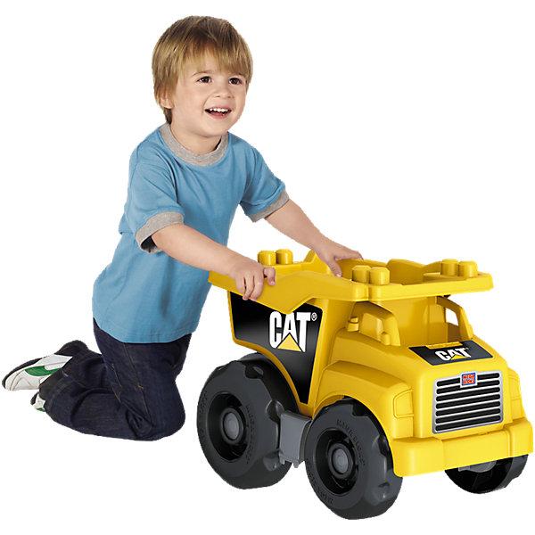 Большой самосвал CAT MEGA BLOKSПластмассовые конструкторы<br>Большой самосвал Caterpillar MEGA BLOKS (Мегаблокс) не оставит равнодушным ни одного юного автолюбителя. Впечатляющие размеры и тщательная проработка всех деталей превращают игрушку в настоящую строительную технику, с которой будут особенно интересны игры на улице. В объемном вместительном кузове можно перевозить любые материалы и предметы для строительства, песок и строительные блоки. Кузов легко опрокидывается, разгружая машину. Мощные большие колеса позволяют катать игрушку по любой поверхности, крупные округлые детали очень удобны для ручек малышей. В комплект также входят 25 блоков и фигурка рабочего, которые позволят оборудовать свою собственную стройку и сделают игру еще интереснее и реалистичнее. <br><br>Дополнительная информация:<br><br>- Материал: пластик.<br>- Размер упаковки: 45,7 x 30,5 x 32,5 см. <br>- Вес: 1,9 кг.<br><br>Большой самосвал CAT MEGA BLOKS (Мегаблокс) можно купить в нашем интернет-магазине.<br><br>Ширина мм: 430<br>Глубина мм: 309<br>Высота мм: 314<br>Вес г: 1871<br>Возраст от месяцев: 12<br>Возраст до месяцев: 60<br>Пол: Мужской<br>Возраст: Детский<br>SKU: 4168141