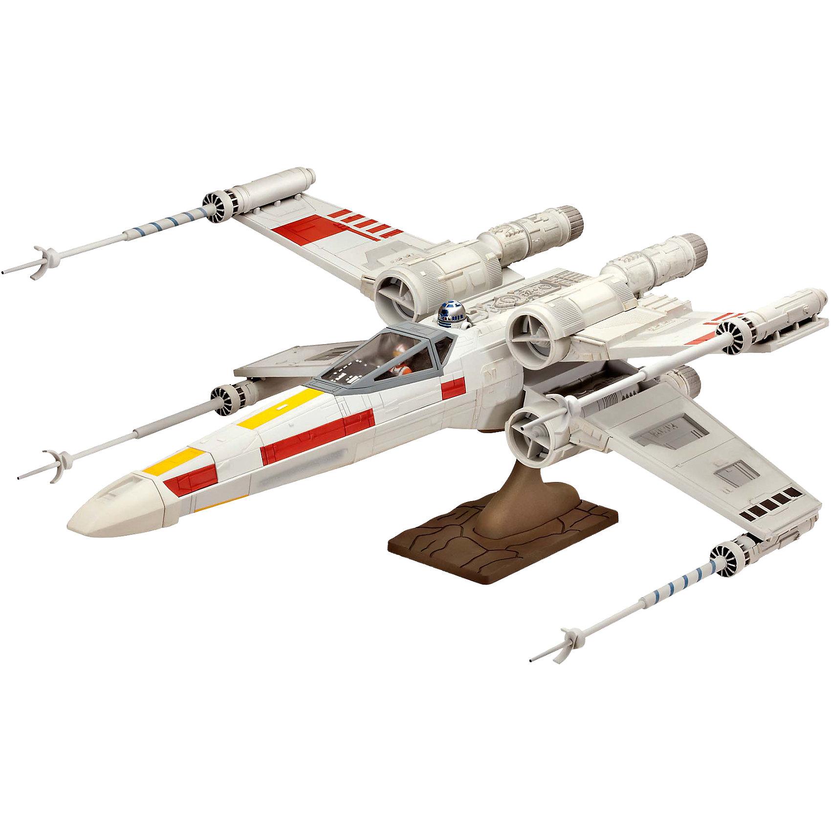 Сборка Звёздный истребитель «Крестокрыл» (41,4 см)Модели для склеивания<br>Сборная модель истребителя ARC-170 из серии, посвященной «Звездным Войнам». Этот корабль вооружен торпедами и лазерными пушками, и в целом он менее маневренный, чем истребители Джедаев. Команда корабля состоит из трёх клонов, которые могут управлять им наиболее эффективно именно в таком составе. <br>Для сборки этой модели клей и краски вам не потребуются, соединение деталей происходит посредством специальных зажимов! <br>Количество деталей: 62 <br>Длина модели: 416 мм <br>Количество фигур: 1.<br><br>Ширина мм: 584<br>Глубина мм: 383<br>Высота мм: 76<br>Вес г: 1151<br>Возраст от месяцев: 96<br>Возраст до месяцев: 156<br>Пол: Мужской<br>Возраст: Детский<br>SKU: 4171726