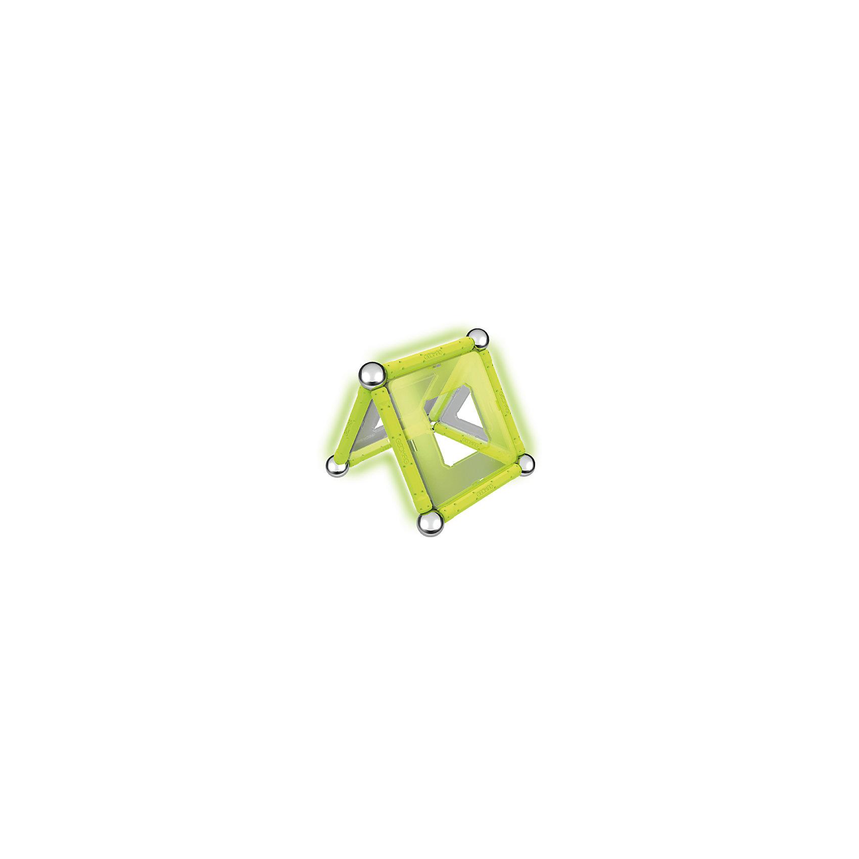 """Магнитный конструктор Geomag """"Glow"""", 22 детали от myToys"""