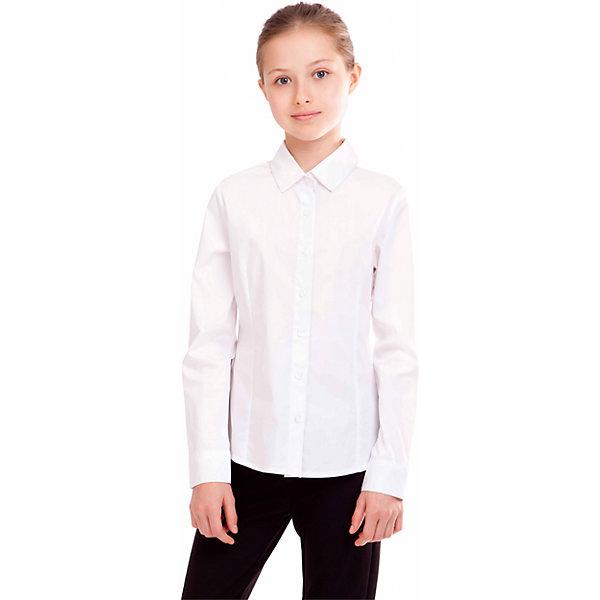 Блузка для девочки GulliverБлузки и рубашки<br>Блузка для девочки от российской марки Gulliver.<br>Классическая блузка для каждого дня современной школьницы.  В составе ткани значительное содержание хлопка. Полиэстер и эластан играют роль смягчающего волокна и гарантируют комфортную посадку блузки на фигуре. Отсутствие крупных декоративных деталей на полочке позволят ей быть прекрасным дополнением к любому сарафану.<br>Состав:<br>68%хлопок, 29% полиэстер, 3%эластан<br><br>Ширина мм: 186<br>Глубина мм: 87<br>Высота мм: 198<br>Вес г: 197<br>Цвет: белый<br>Возраст от месяцев: 108<br>Возраст до месяцев: 120<br>Пол: Женский<br>Возраст: Детский<br>Размер: 140,152,128,158,146,134,122<br>SKU: 4174728