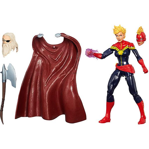 Коллекционная фигурка Марвел Эра Альтрона - Капитан Марвел, 15 см, Marvel HeroesГерои комиксов<br>Любой мальчишка будет рад такой коллекционной фигурке. В этом выпуске фигурок под именем Капитан Марвел скрывается супергероиня Кэрол Дэнверс, ранее известная как мисс Марвел. Эта героиня встречается во многих комиксах, она взаимодействовала с Человеком-пауком, людьми Х, была членом команды Мстителей, а позже присоединилась к Стражам Галактики. В каждой коробке  одна из частей уникальной фигурки - собери все части и устрой настоящую битву!<br><br>Дополнительная информация:<br><br>- Материал: пластик.<br>- Размер: 15 см.<br>- Голова, ноги и руки фигурки подвижные.<br>- Комплектация: фигурка, часть фигурки Одина.<br><br>Коллекционную фигурку Марвел Эра Альтрона - Капитан Марвел, 15 см, Marvel Heroes, можно купить в нашем магазине.<br>Ширина мм: 64; Глубина мм: 152; Высота мм: 267; Вес г: 220; Возраст от месяцев: 48; Возраст до месяцев: 144; Пол: Мужской; Возраст: Детский; SKU: 4175023;