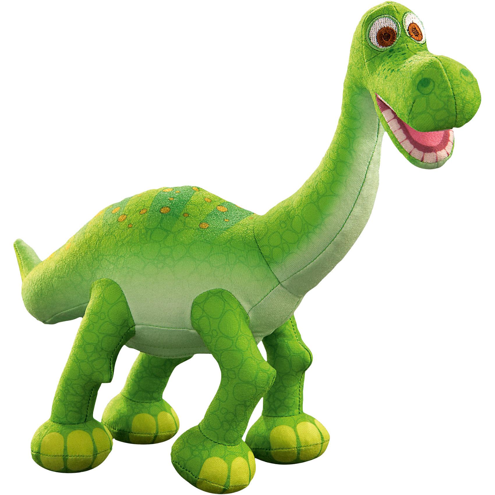 Арло, Хороший динозаврАрло, Хороший динозавр – эта плюшевая озвученная игрушка неприметно понравится поклонникам мультфильма «Хороший динозавр».<br>Мягкая озвученная игрушка Хороший динозавр Арло обязательно придется по душе поклонникам и поклонницам мультфильма Хороший динозавр. Игрушка изготовлена из гипоаллергенного материала, поэтому ее можно подарить ребенку любого возраста. Динозавр Арло мягкий, плюшевый, очень добрый, да еще и озвученный! Погладьте динозаврика по спинке, и он издаст несколько звуков из мультфильма Хороший Динозавр, в котором исполняет главную роль. Ваш ребенок будет в восторге от такого замечательного подарка.<br><br>Дополнительная информация:<br><br>- Высота игрушки: 30 см.<br>- Батарейки: 2 типа ААА (входят в комплект)<br>- Материал: текстиль, синтепон<br>- Цвет: зеленый<br><br>Игрушку Арло, Хороший динозавр можно купить в нашем интернет-магазине.<br><br>Ширина мм: 250<br>Глубина мм: 255<br>Высота мм: 135<br>Вес г: 300<br>Возраст от месяцев: 36<br>Возраст до месяцев: 72<br>Пол: Мужской<br>Возраст: Детский<br>SKU: 4175289