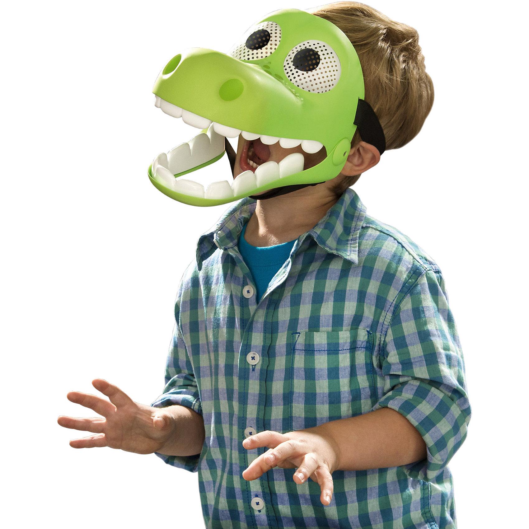Маска Арло, Хороший динозаврМаска Арло, Хороший динозавр – это возможность превратить праздник в необычное, яркое шоу.<br>Яркая зеленая маска изображает добродушного динозаврика Арло, главного героя мультфильма Хороший Динозавр студии Disney Pixar! Самая интересная особенность маски - подвижная челюсть, которая открывается и закрывается вместе со ртом ребенка. Для этого эффекта под подбородком закрепляется специальный ремешок, его длина регулируется липучкой. Маска можно носить на Хэллоуин или новогодний карнавал, а можно наряжаться Арло для сюжетных игр с друзьями! Маска выполнена из экологически чистого легкого пластика и абсолютно безопасна для Вашего ребёнка.<br><br>Дополнительная информация:<br><br>- Материал: пластик<br>- Цвет: зеленый<br>- Размер упаковки: 30 х 10 х 20 см.<br>- Вес: 0,4 кг.<br><br>Маску Арло, Хороший динозавр можно купить в нашем интернет-магазине.<br><br>Ширина мм: 225<br>Глубина мм: 175<br>Высота мм: 144<br>Вес г: 306<br>Возраст от месяцев: 36<br>Возраст до месяцев: 72<br>Пол: Мужской<br>Возраст: Детский<br>SKU: 4175292