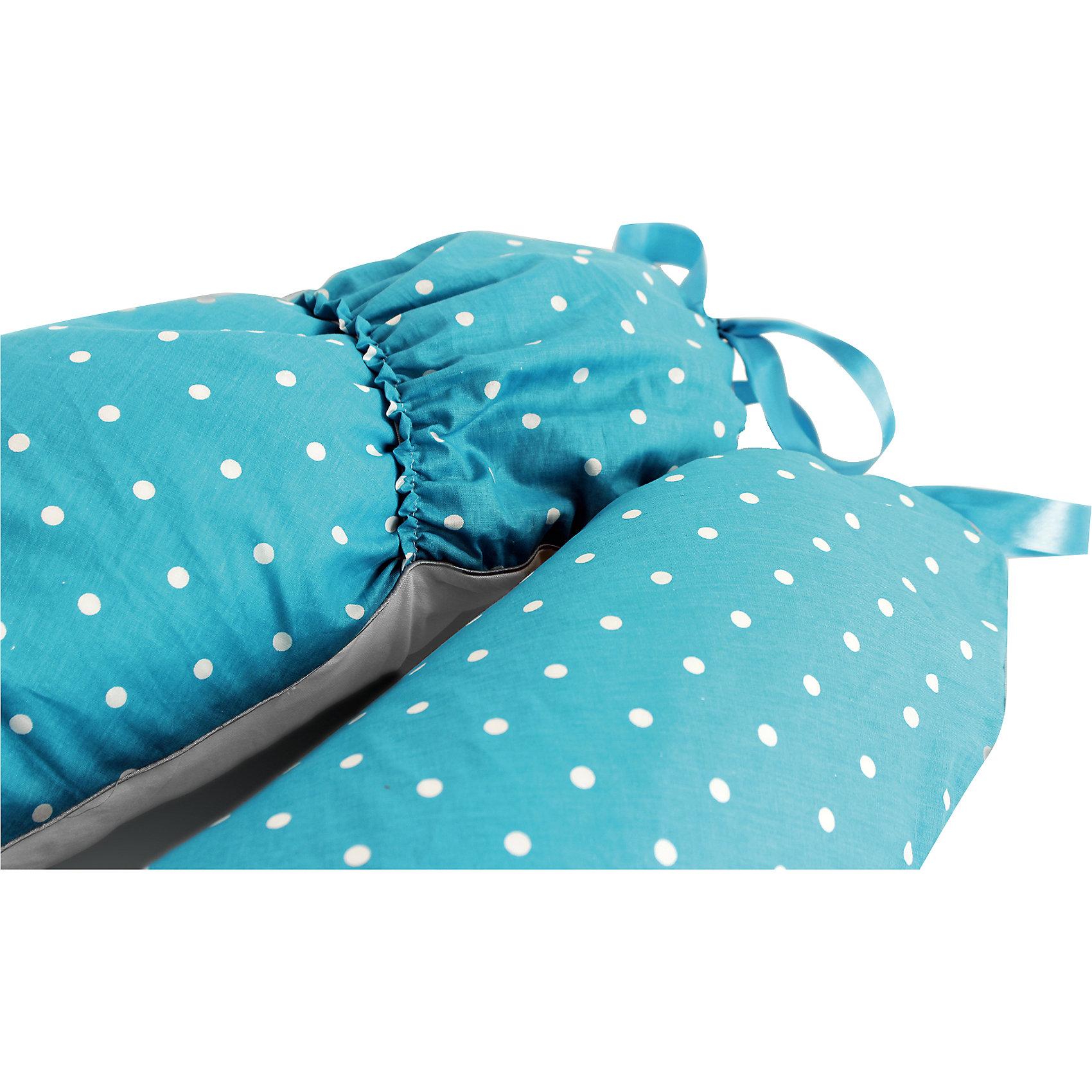 Подушка для беременных и кормления Premium Mamas Helper, голубой